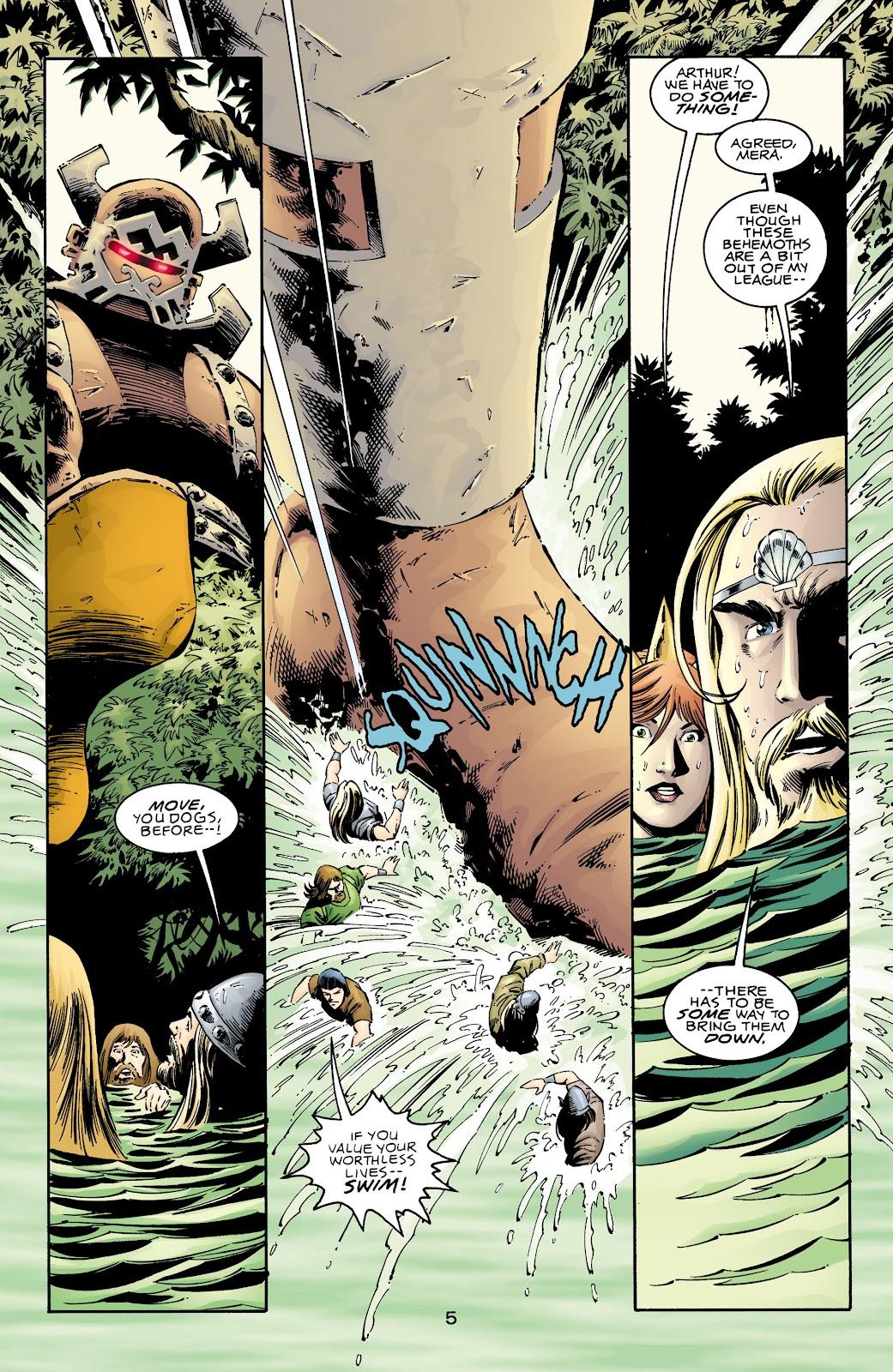 Aquaman (1994) Issue #72 #78 - English 5