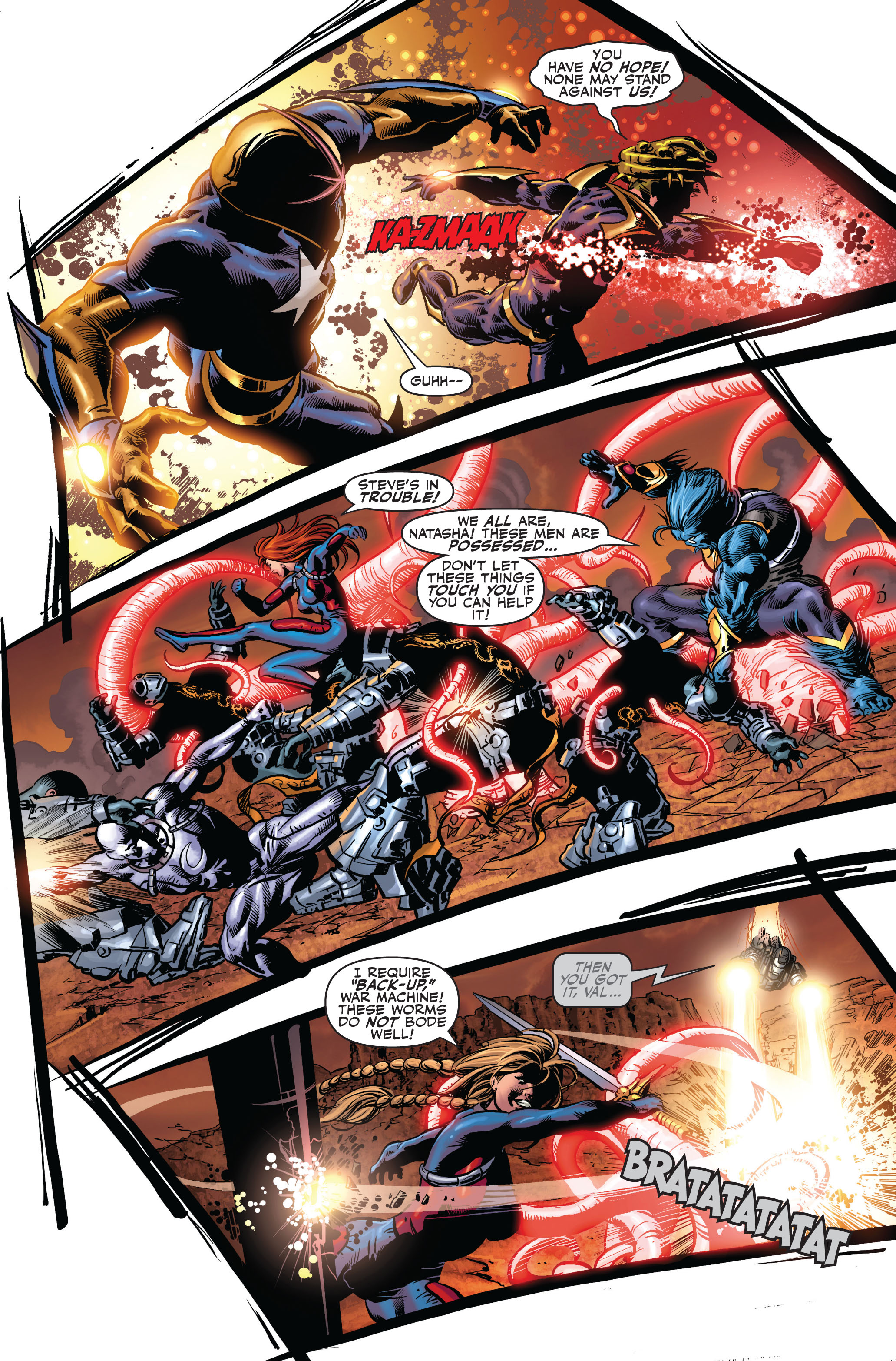 Read online Secret Avengers (2010) comic -  Issue #4 - 13