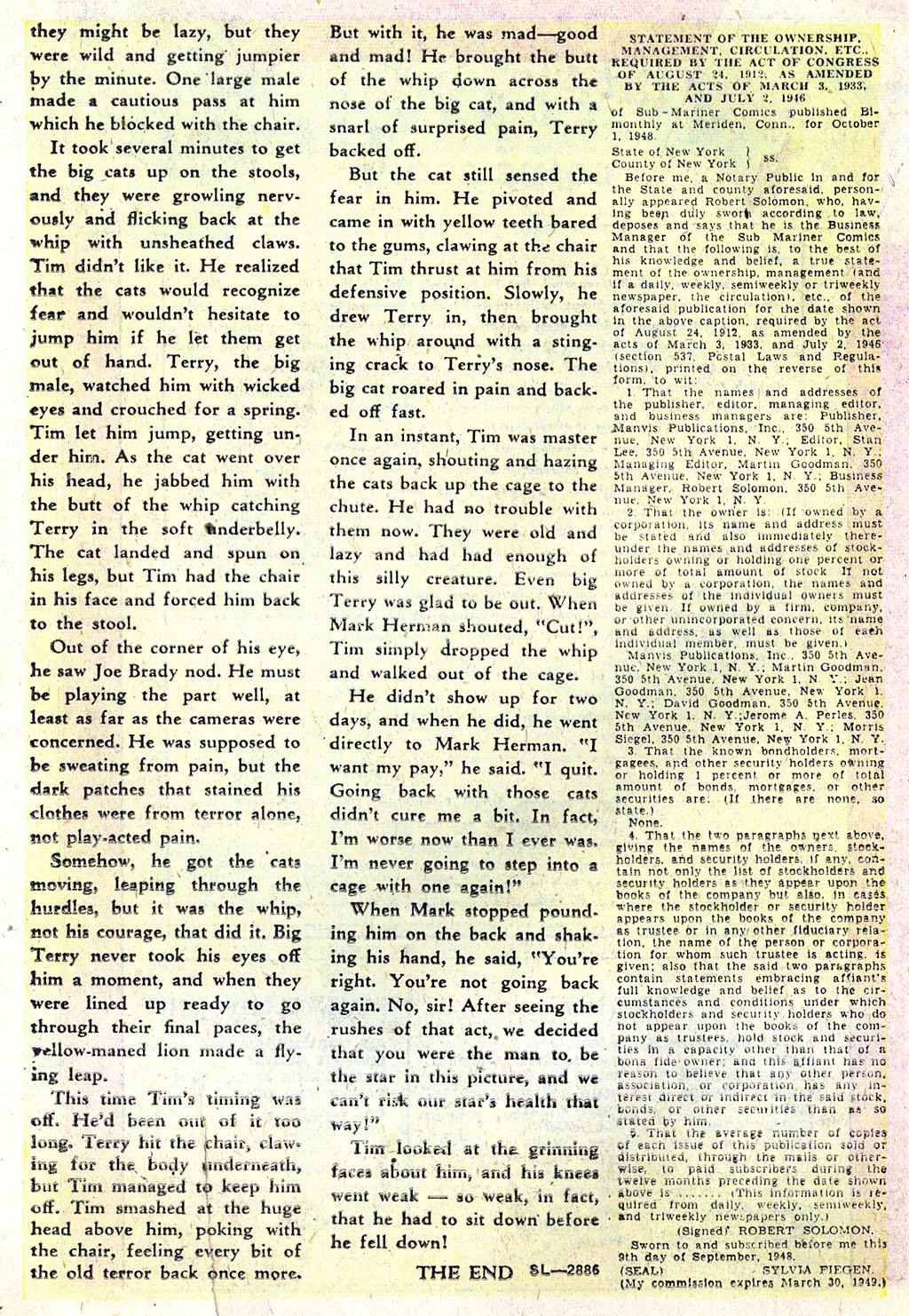Sub-Mariner Comics #31 #31 - English 15