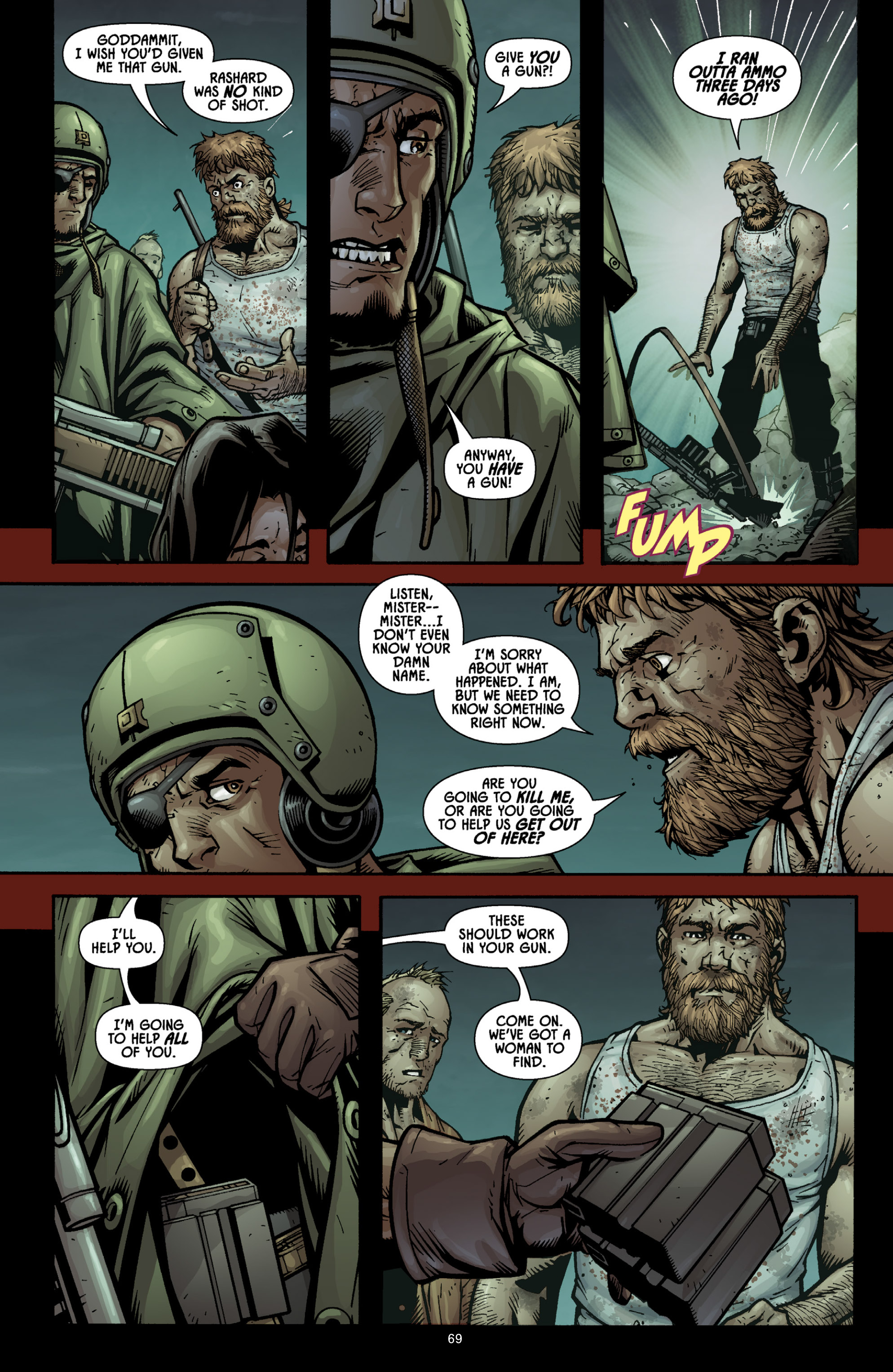 Aliens (2009) TPB Page 64