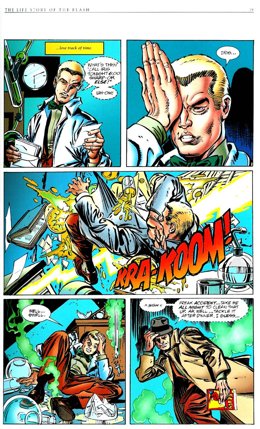 Read online The Life Story of the Flash comic -  Issue # Full - 21