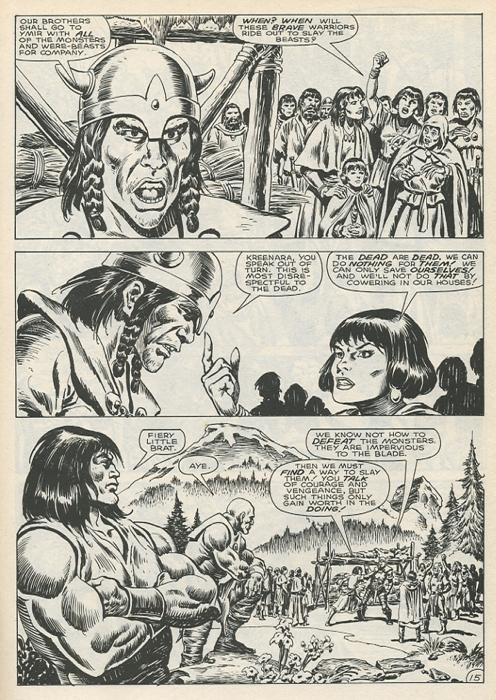 The Savage Sword Of Conan Issue #141 #142 - English 21