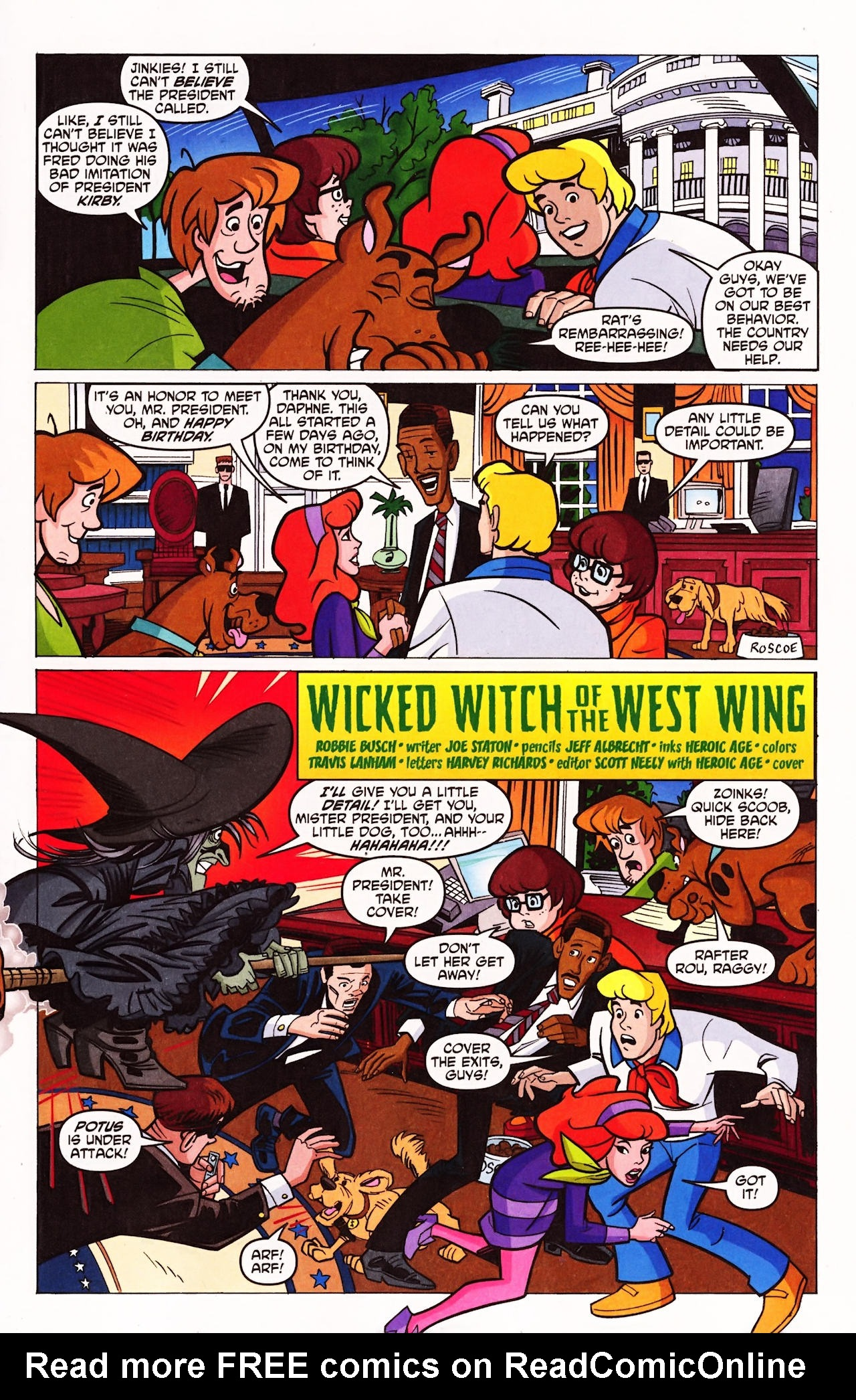 Read online Scooby-Doo (1997) comic -  Issue #143 - 2