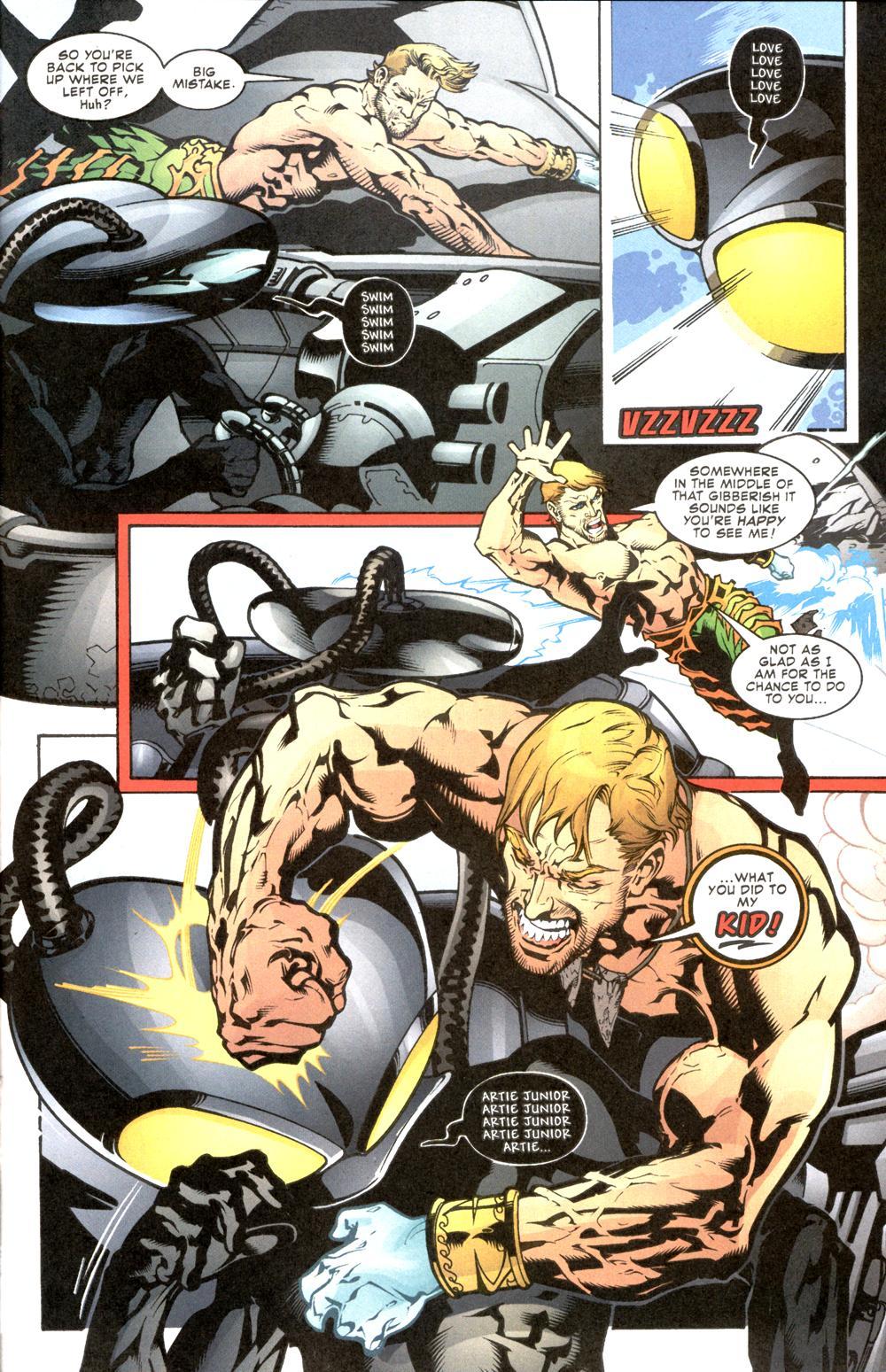 Aquaman (2003) Issue #8 #8 - English 18