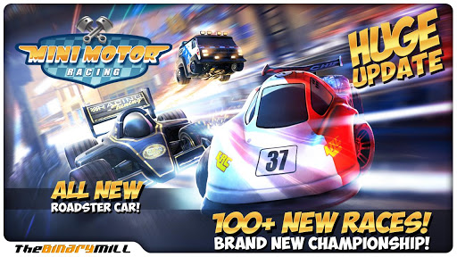 Mini Motor Racing v1.8 APK + OBB
