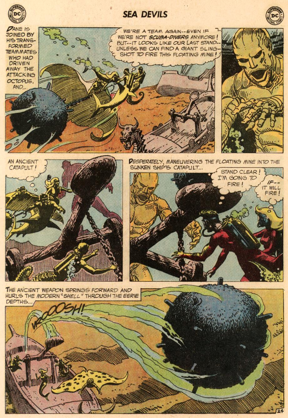 Read online Sea Devils comic -  Issue #8 - 33