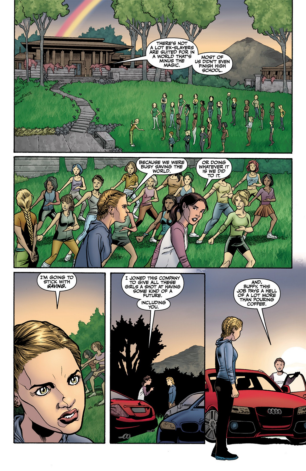 Read online Buffy the Vampire Slayer Season Nine comic -  Issue #11 - 11