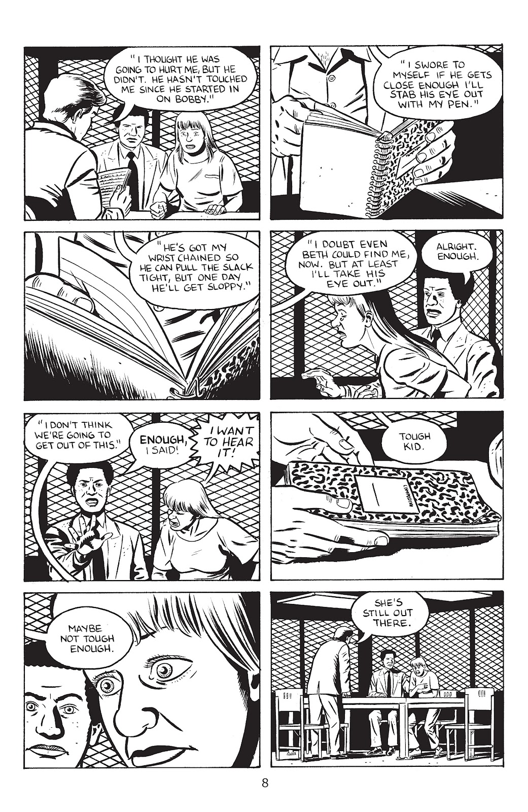 Stray Bullets Issue #29 #29 - English 10