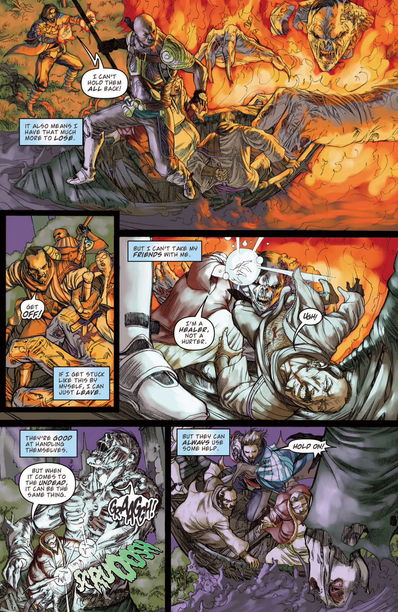 Read online Magic: The Gathering--Path of Vengeance comic -  Issue #3 - 17