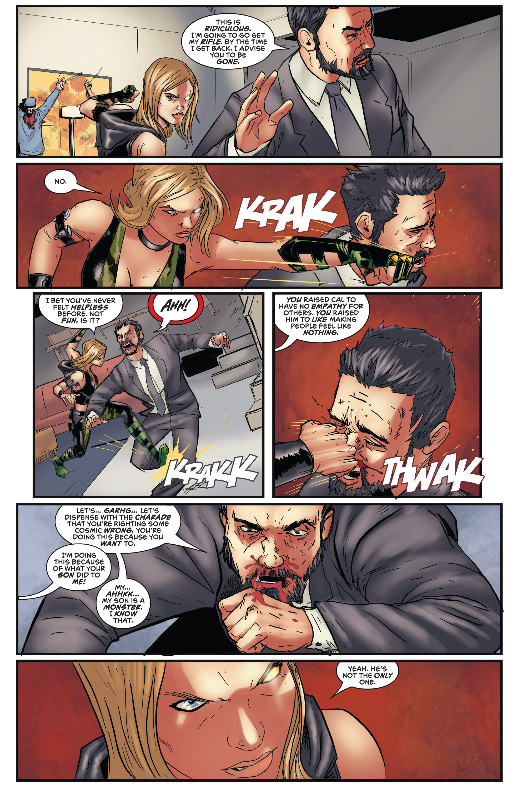 Read online Grimm Fairy Tales presents Robyn Hood (2012) comic -  Issue #5 - 23