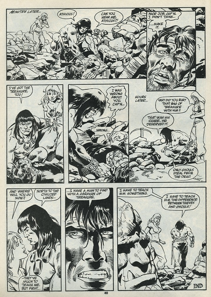 The Savage Sword Of Conan Issue #182 #183 - English 42