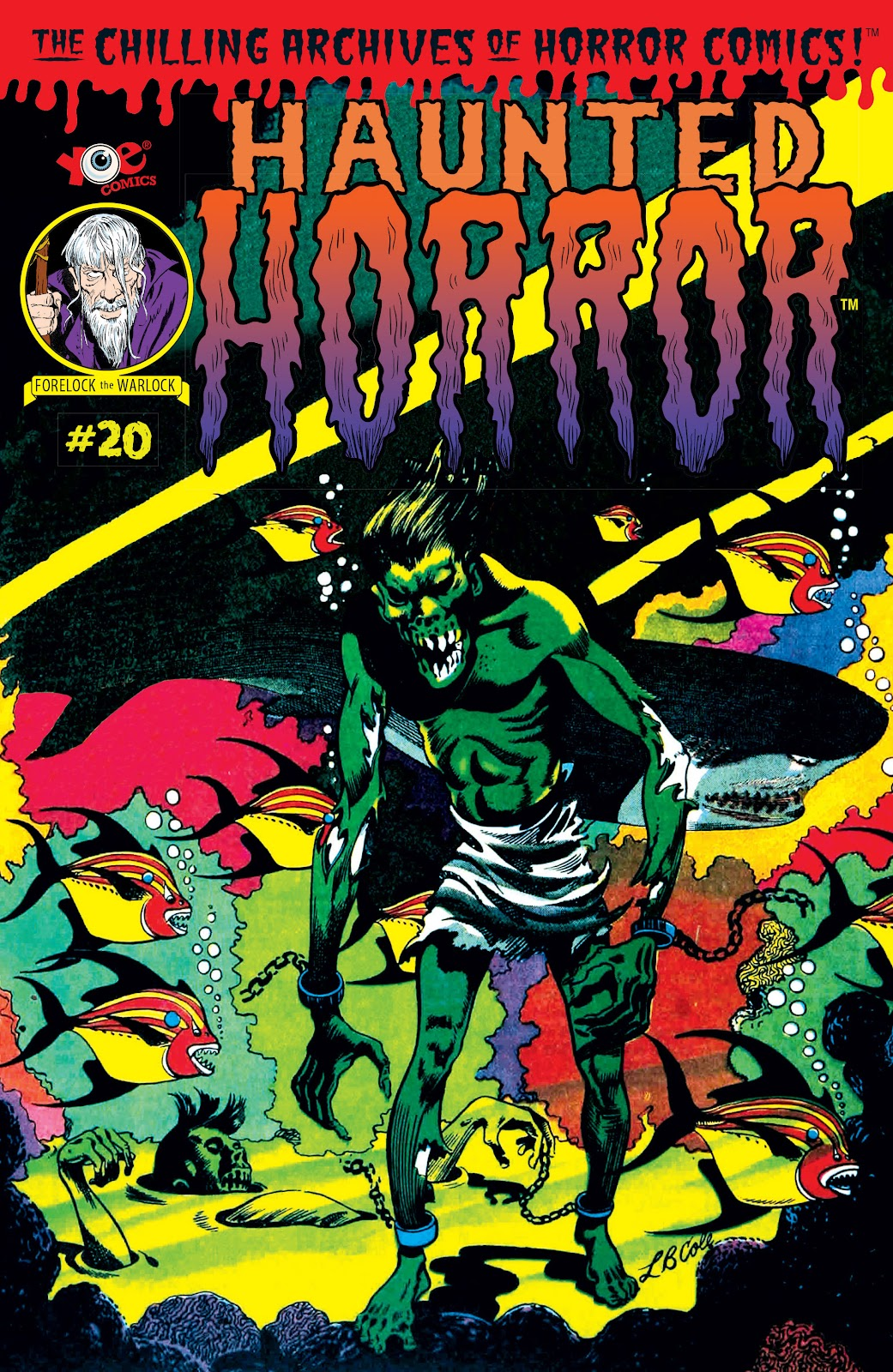 Haunted Horror Issue #20 #20 - English 1