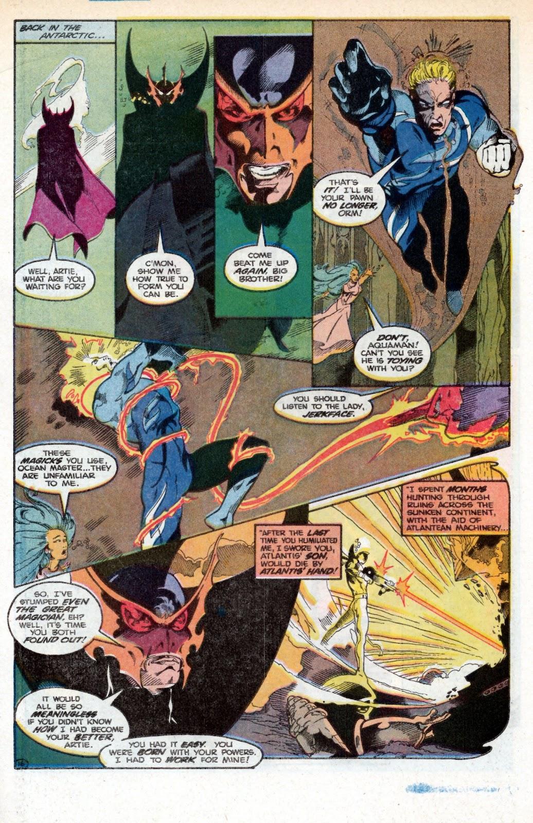 Aquaman (1986) Issue #3 #3 - English 25