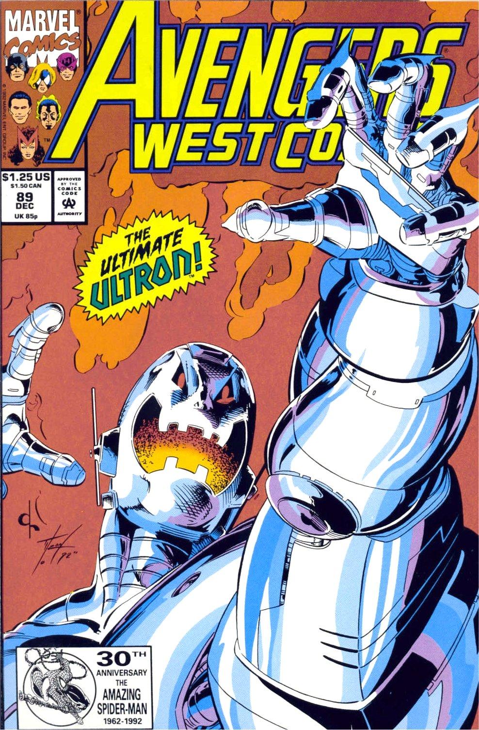 Avengers West Coast (1989) 89 Page 1