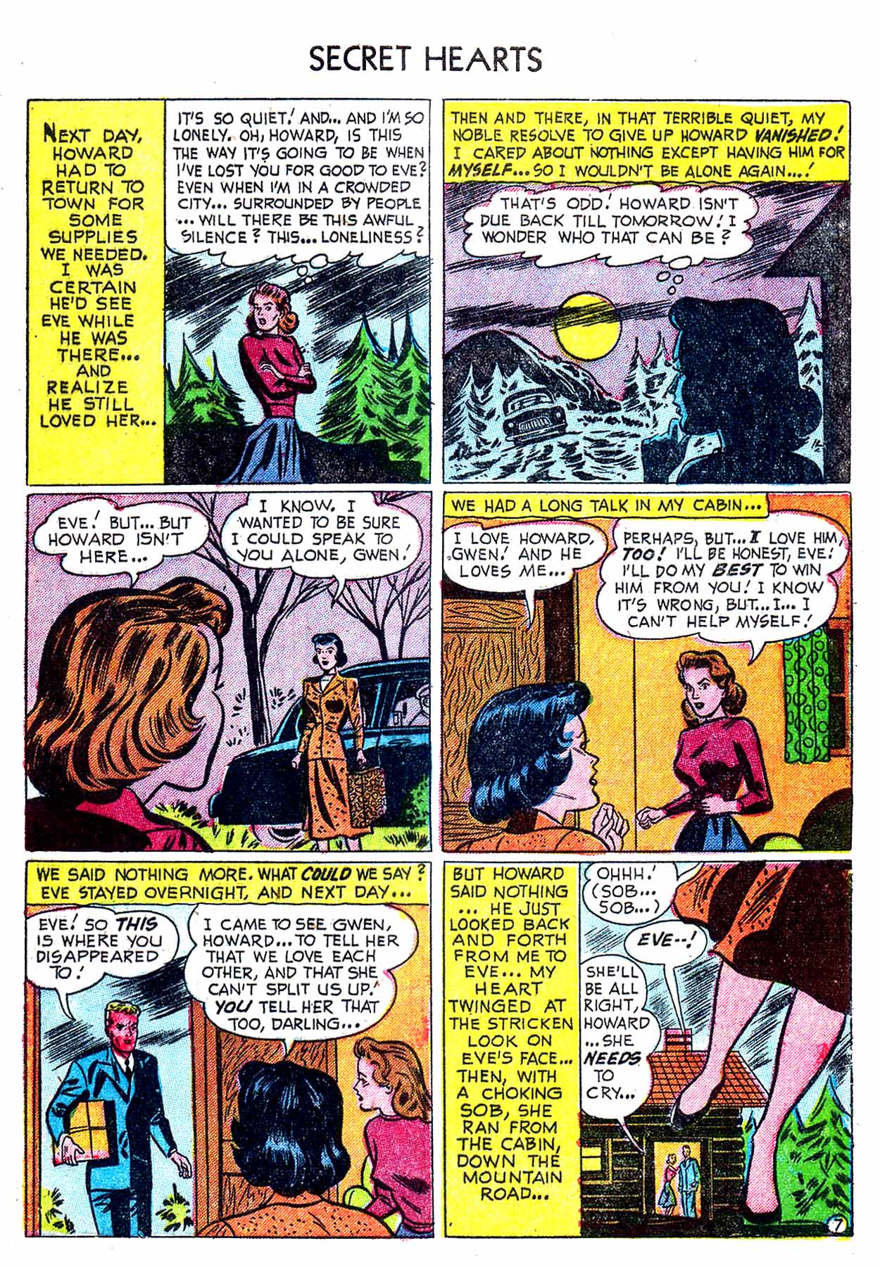 Read online Secret Hearts comic -  Issue #8 - 33