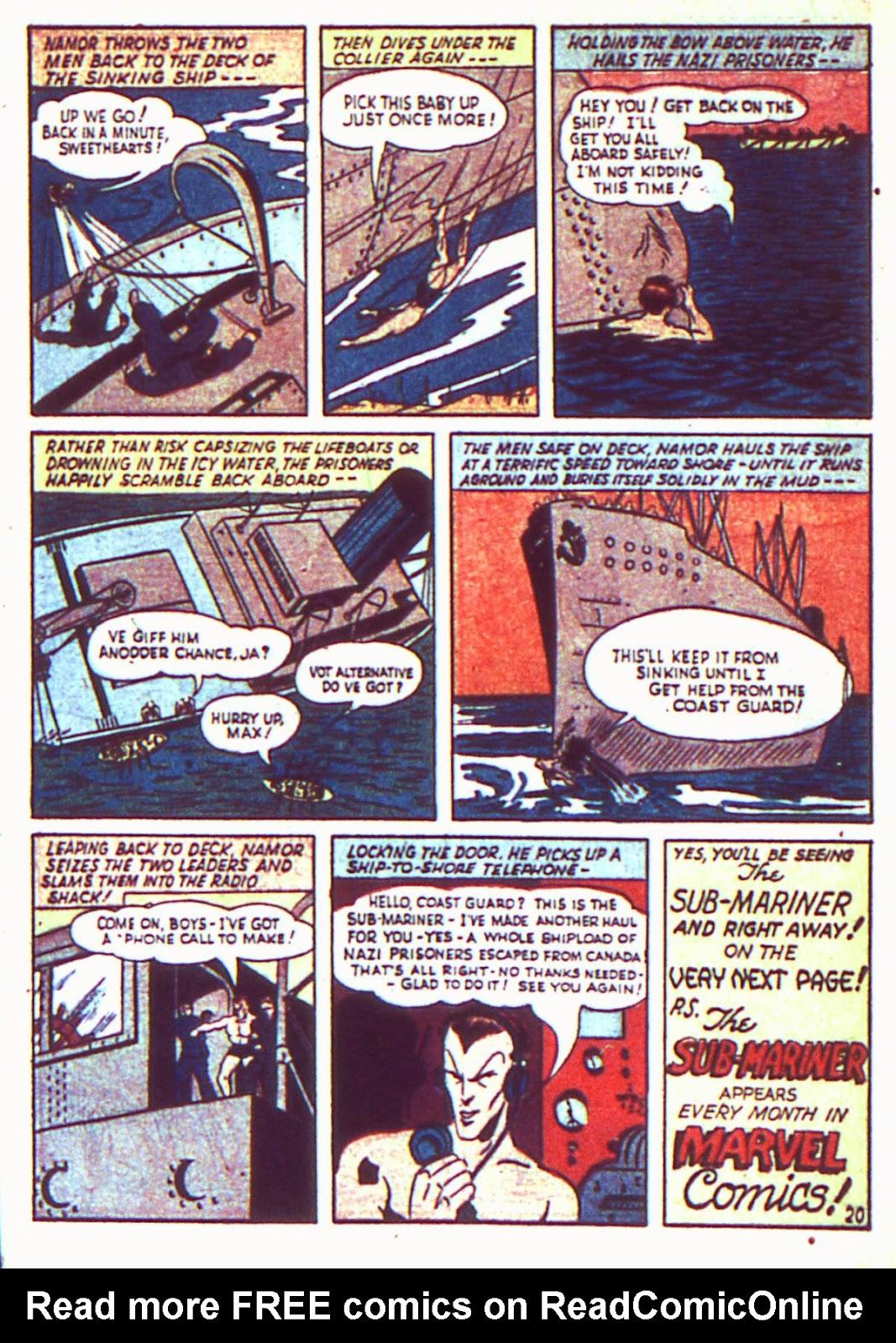 Sub-Mariner Comics Issue #2 #2 - English 22