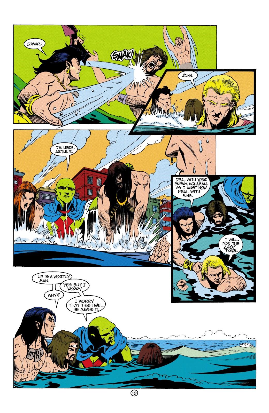 Aquaman (1991) Issue #5 #5 - English 20