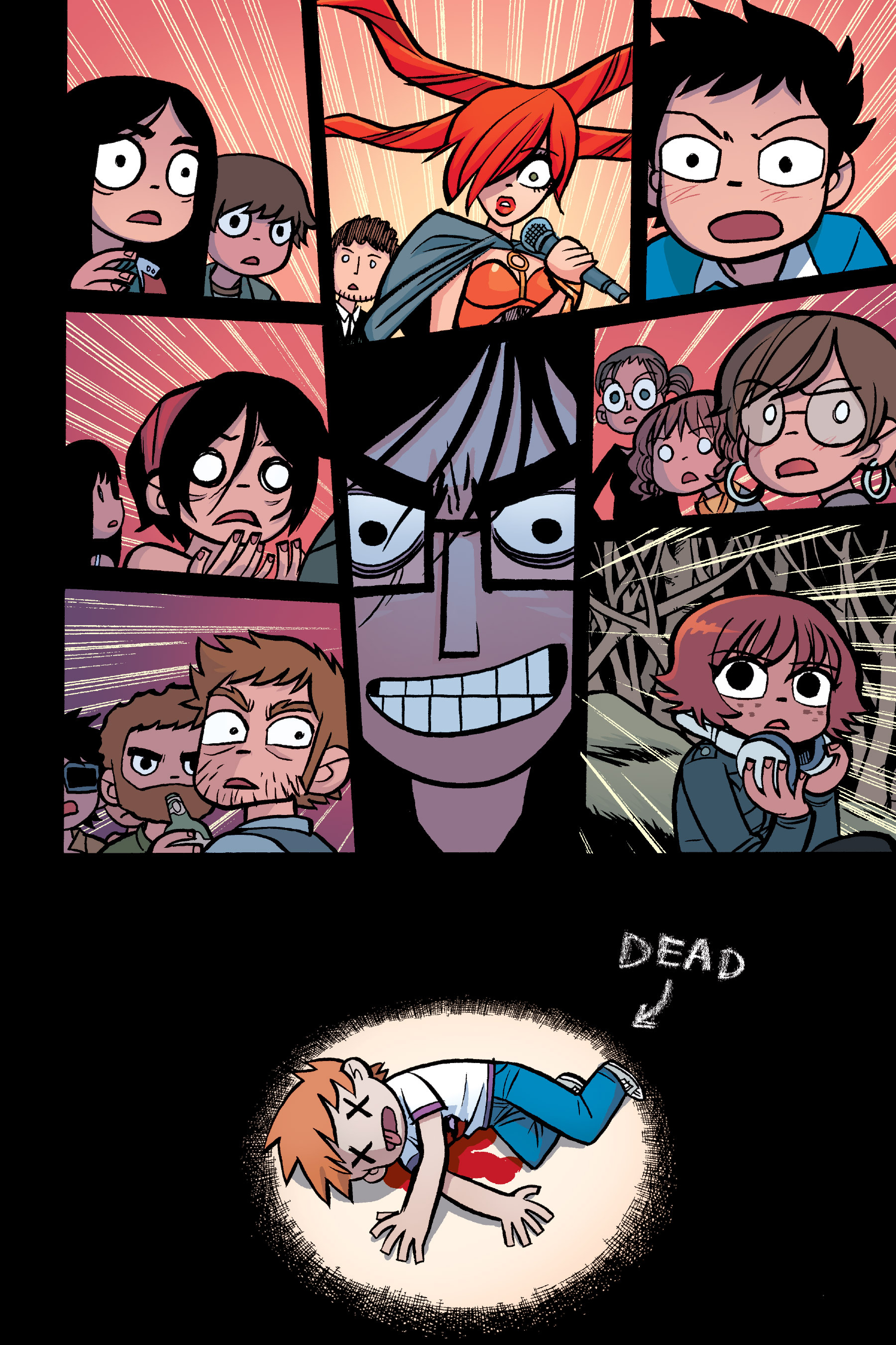 Read online Scott Pilgrim comic -  Issue #6 - 127