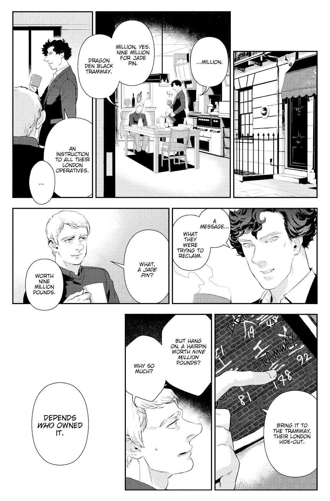 Sherlock: The Blind Banker Issue #6 #6 - English 17