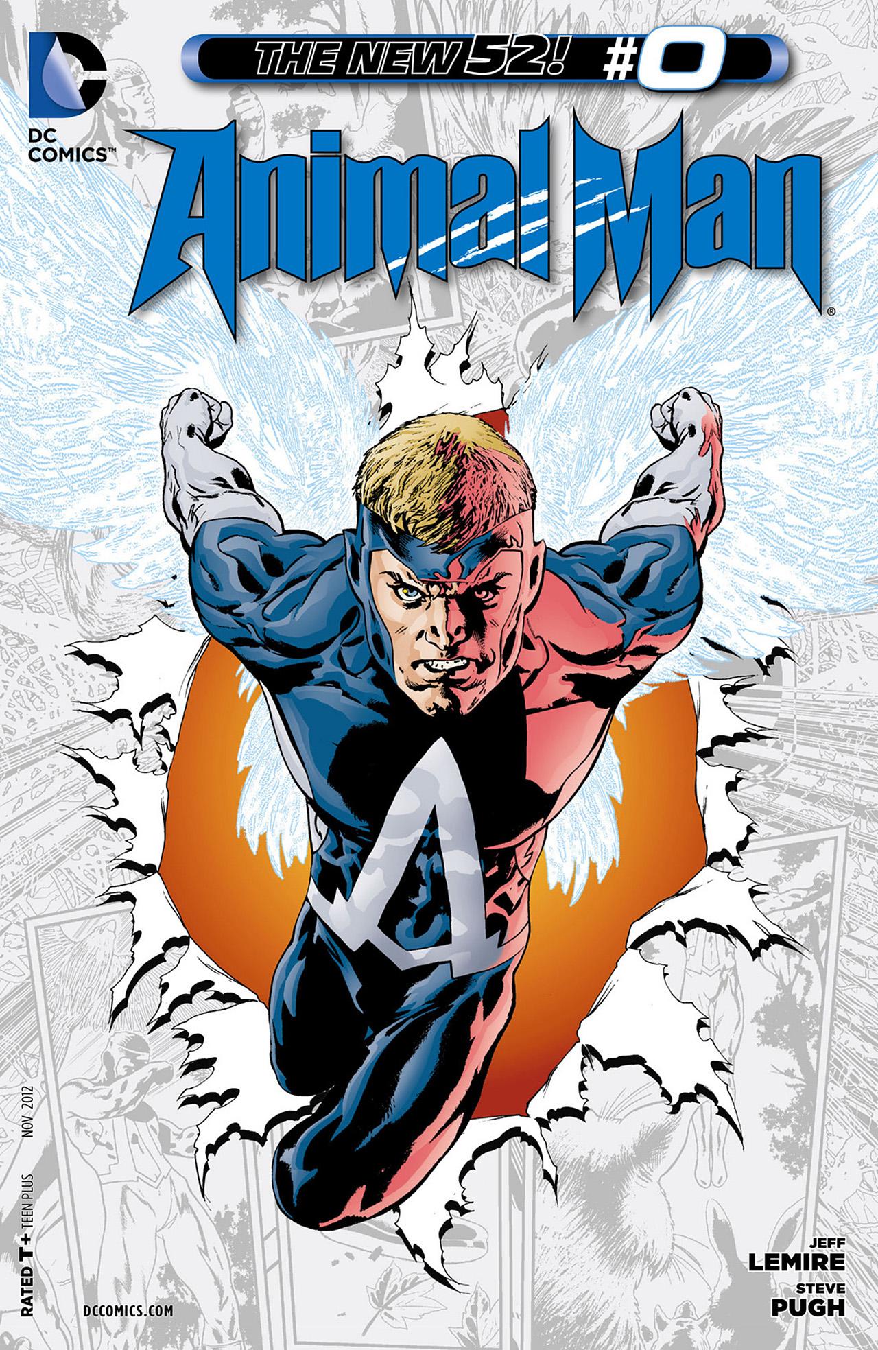 Animal Man (2011) #0 #32 - English 1