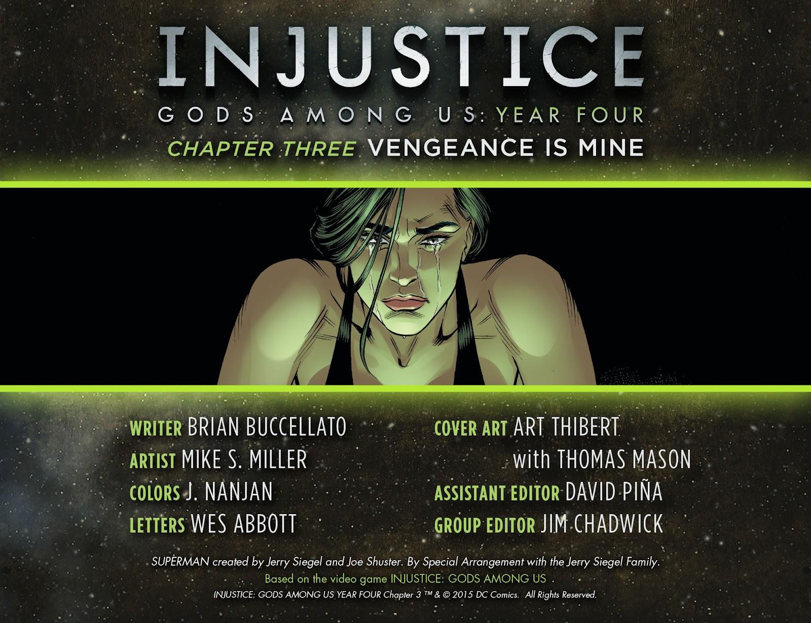 Injustice: Gods Among Us Year Four Issue #3 #4 - English 2