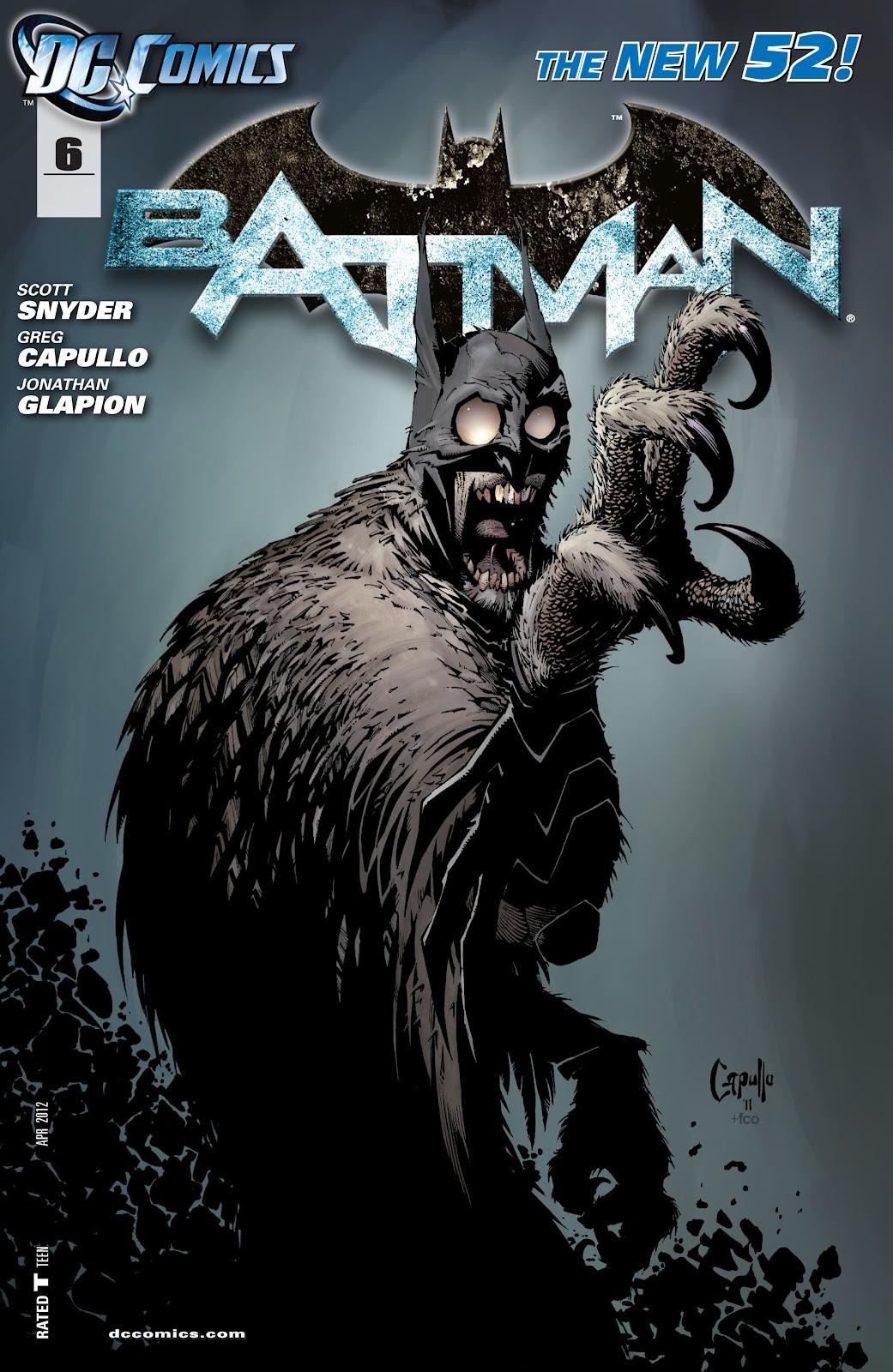 Batman (2011) Issue #6 #21 - English 1