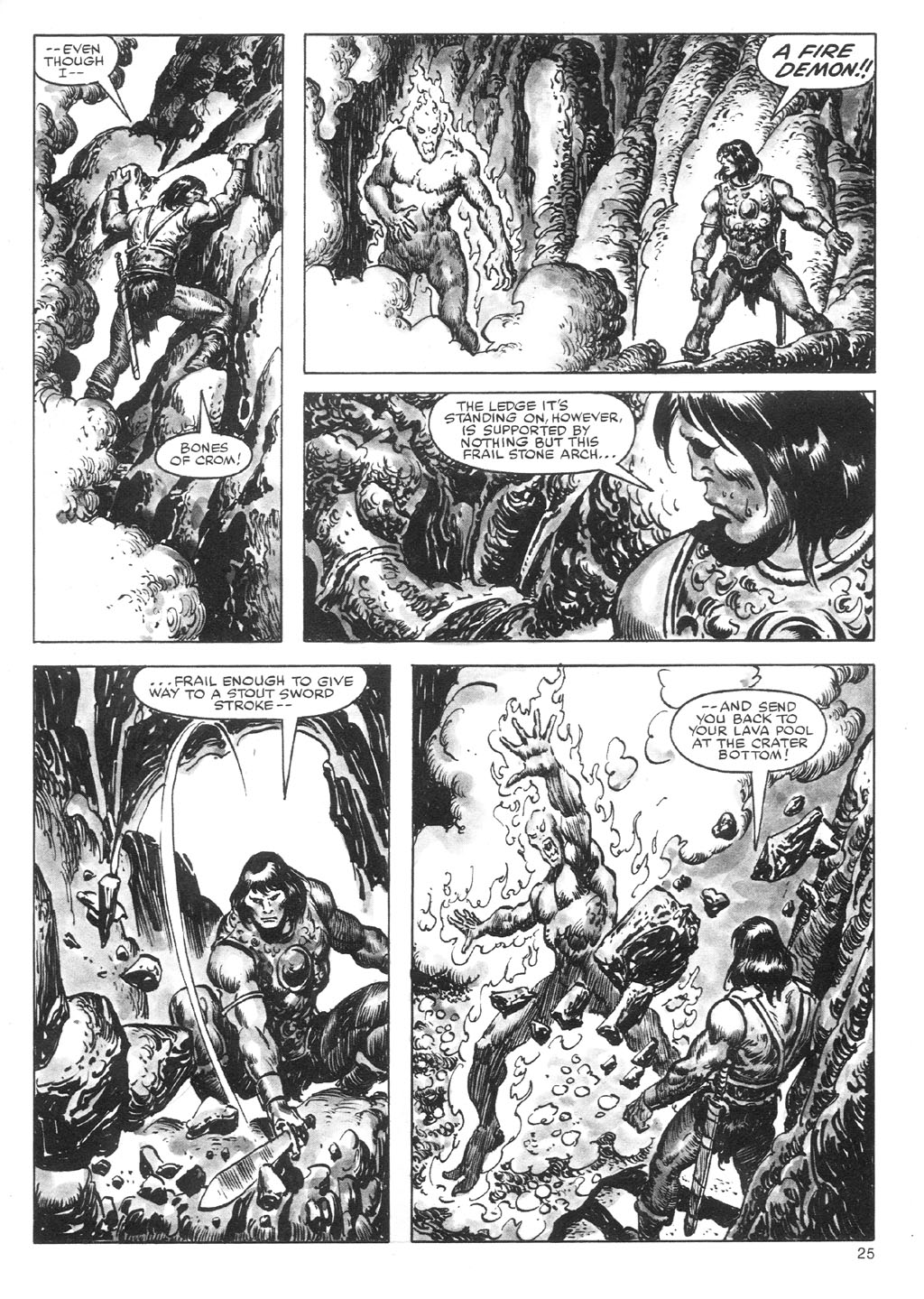 The Savage Sword Of Conan Issue #87 #88 - English 25