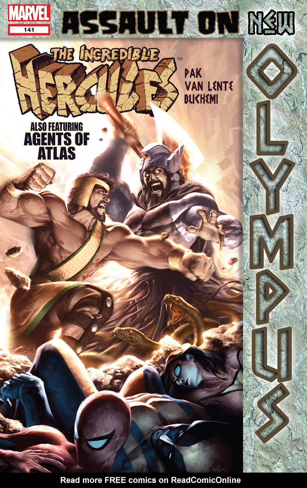Incredible Hercules issue 141 - Page 1