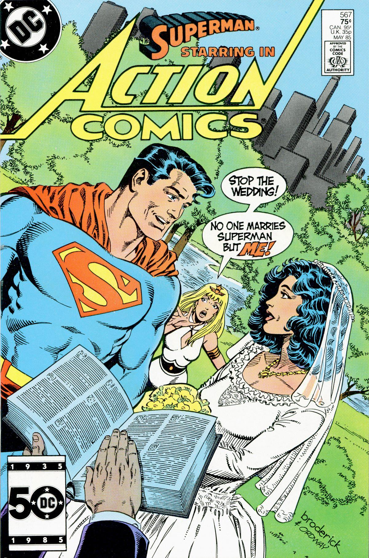 Action Comics (1938) 567 Page 1