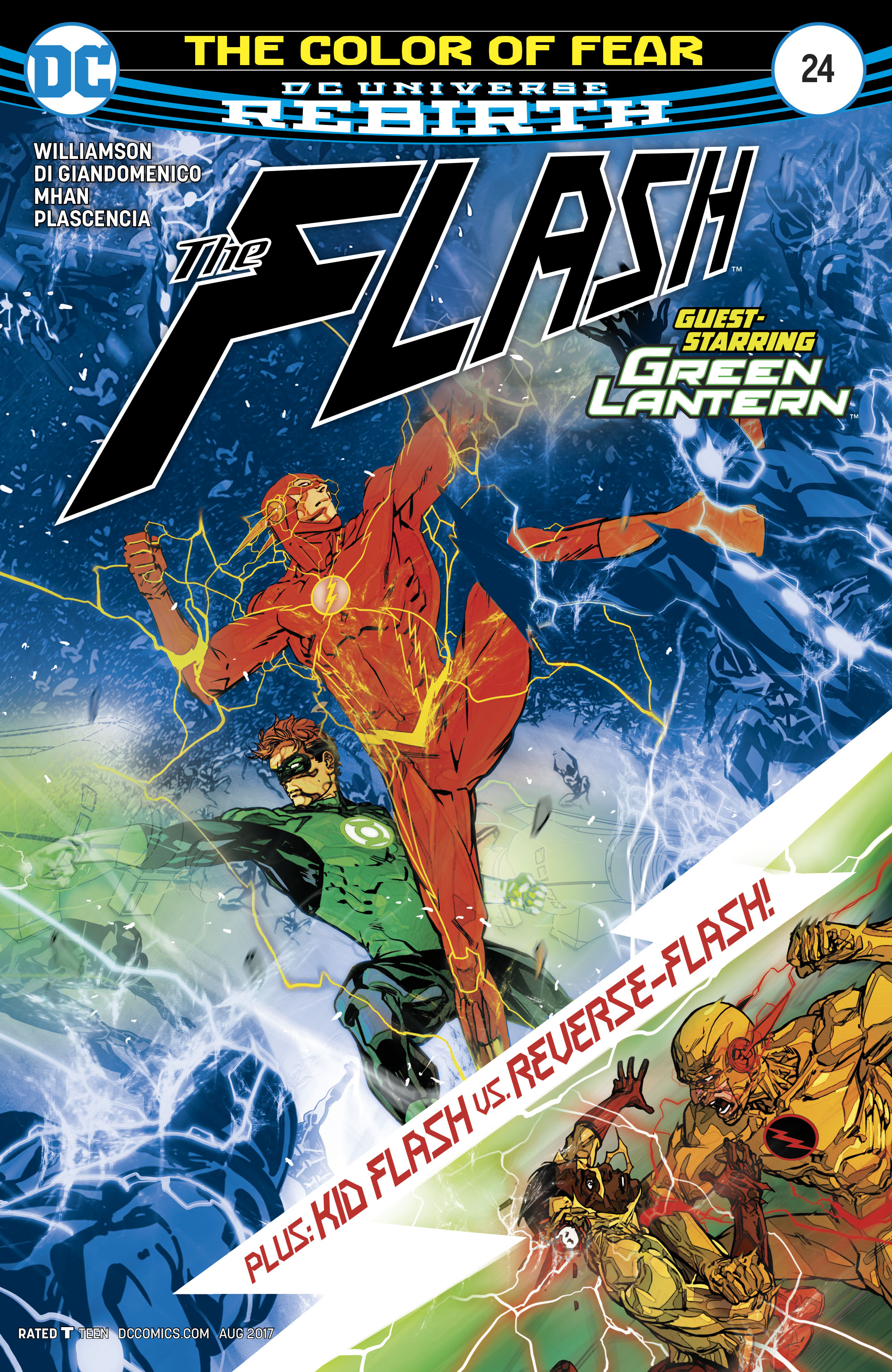 The Flash (2016) issue 24 - Page 1