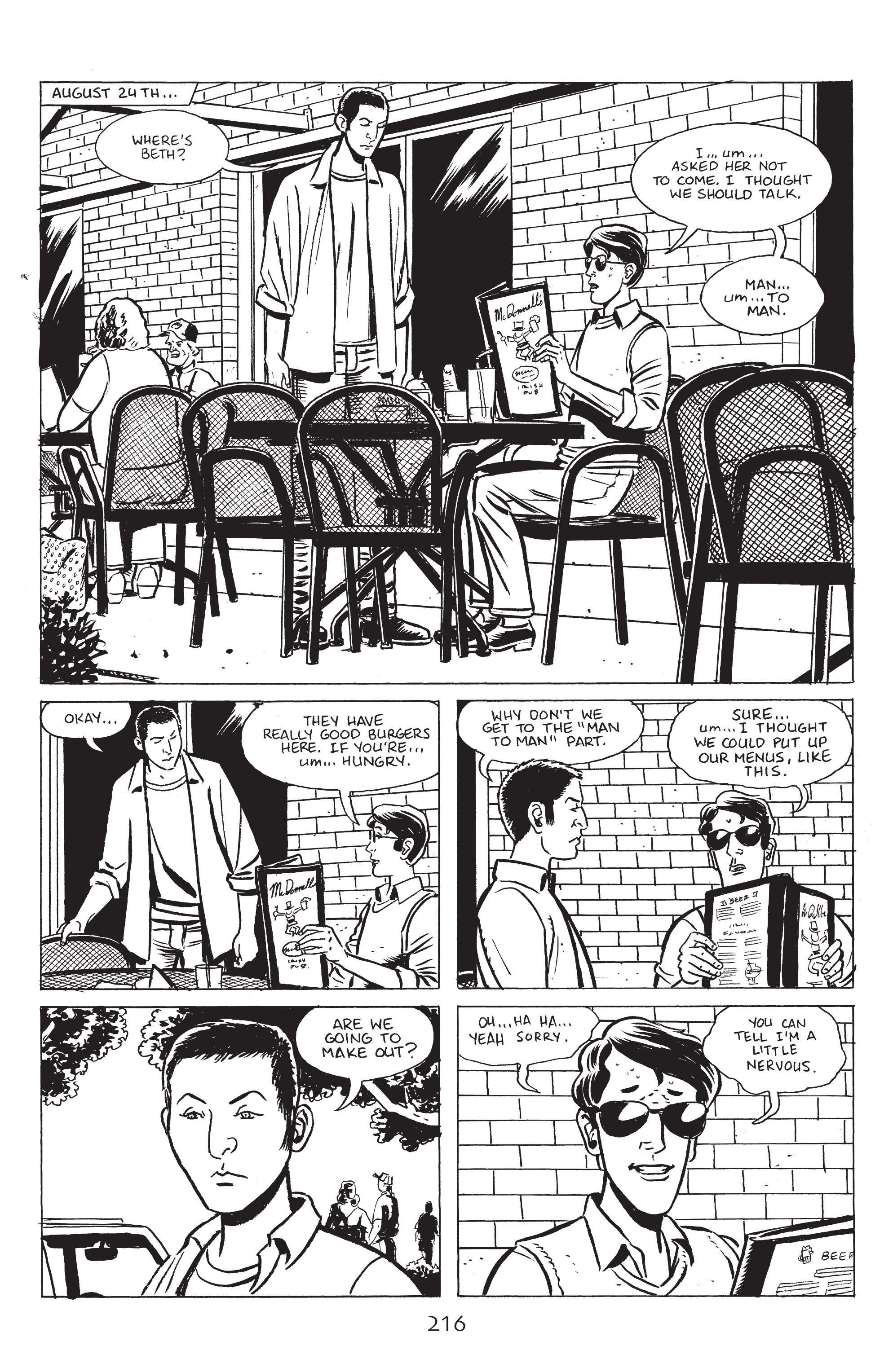 Read online Stray Bullets: Sunshine & Roses comic -  Issue #8 - 22