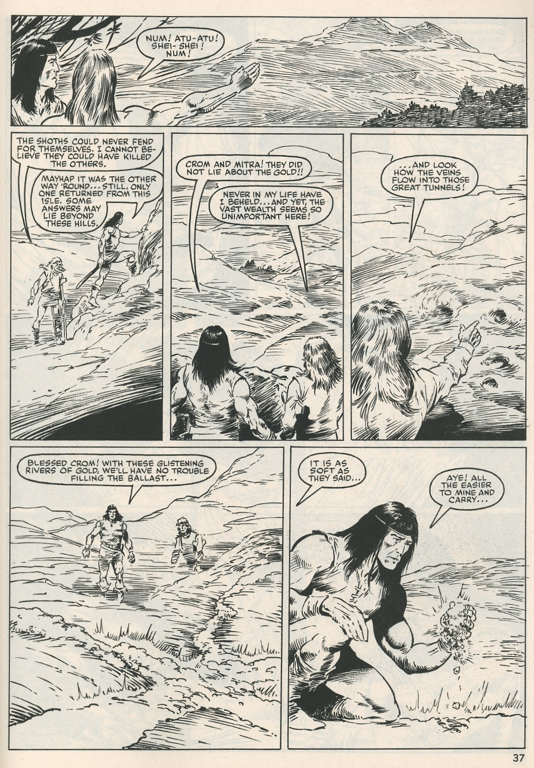 The Savage Sword Of Conan Issue #115 #116 - English 37
