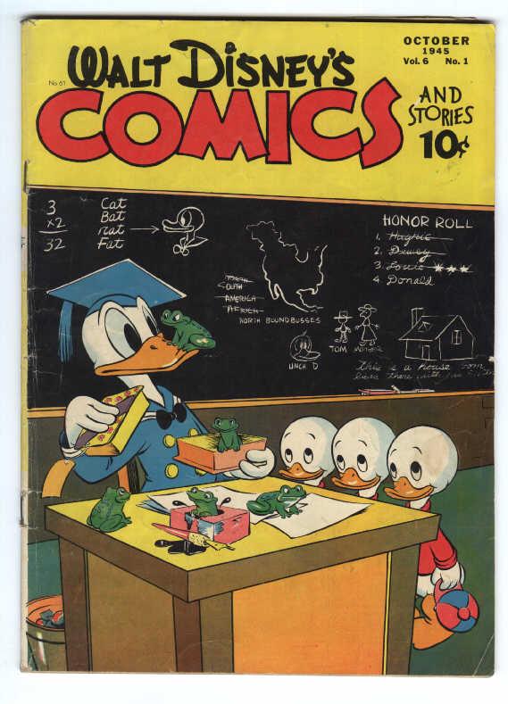 Walt Disneys Comics and Stories 61 Page 1