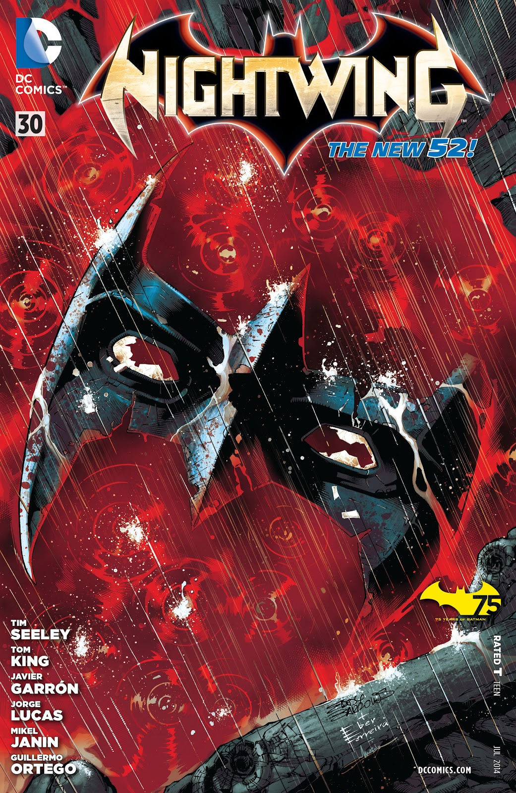 Nightwing (2011) Issue #30 #32 - English 1