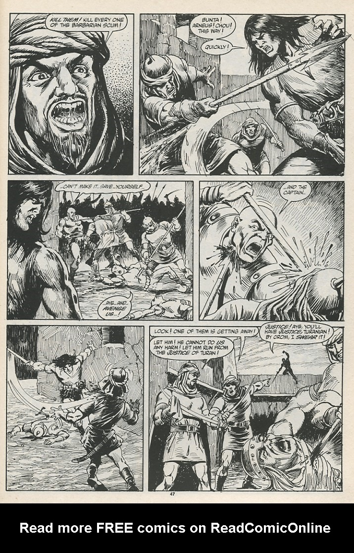 The Savage Sword Of Conan Issue #189 #190 - English 49
