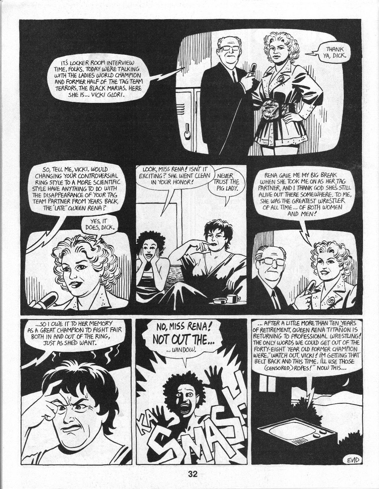 Love and Rockets (1982) Issue #14 #13 - English 34