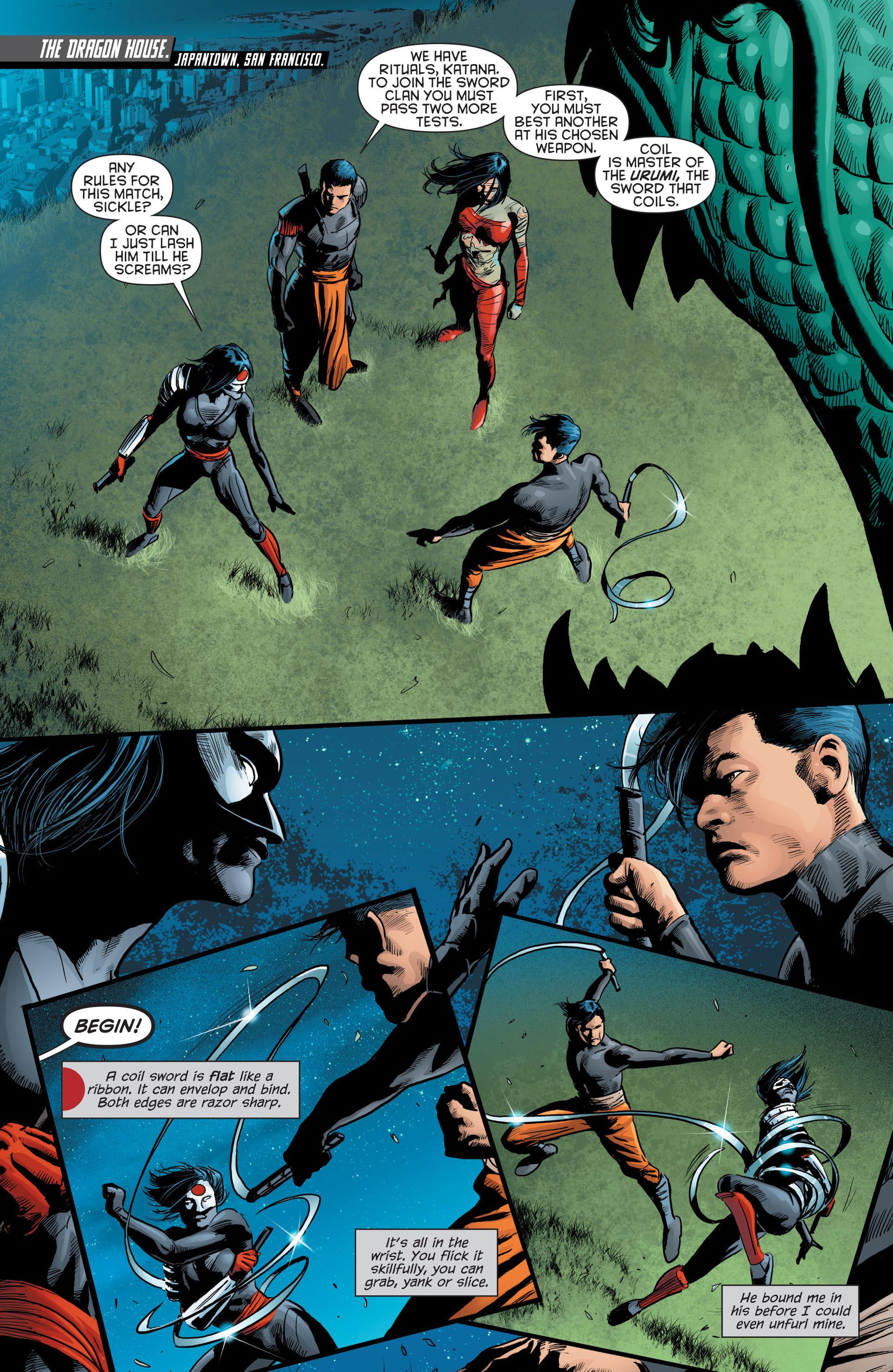 Read online Katana comic -  Issue #8 - 3