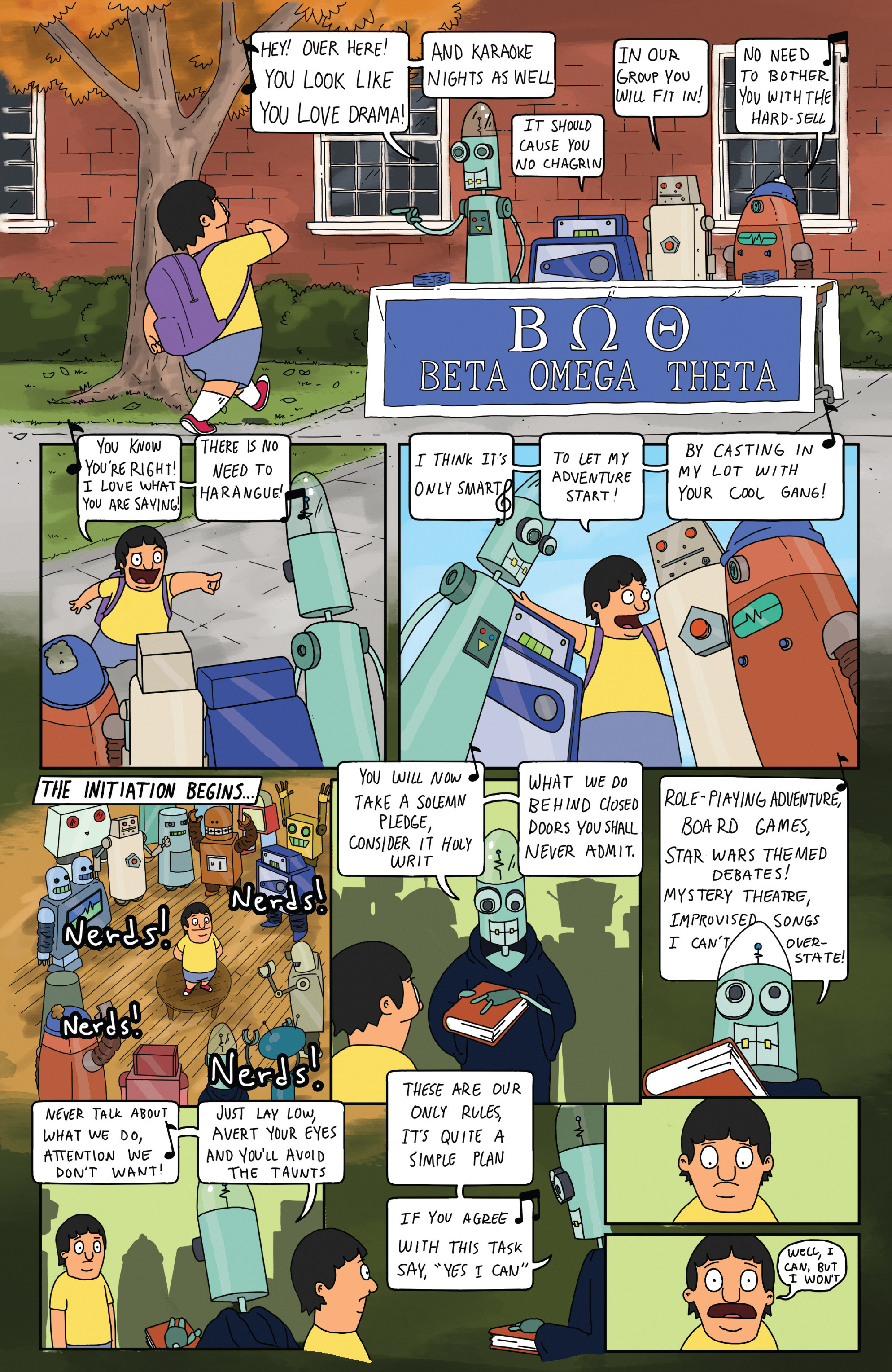 Read online Bob's Burgers (2014) comic -  Issue #5 - 20