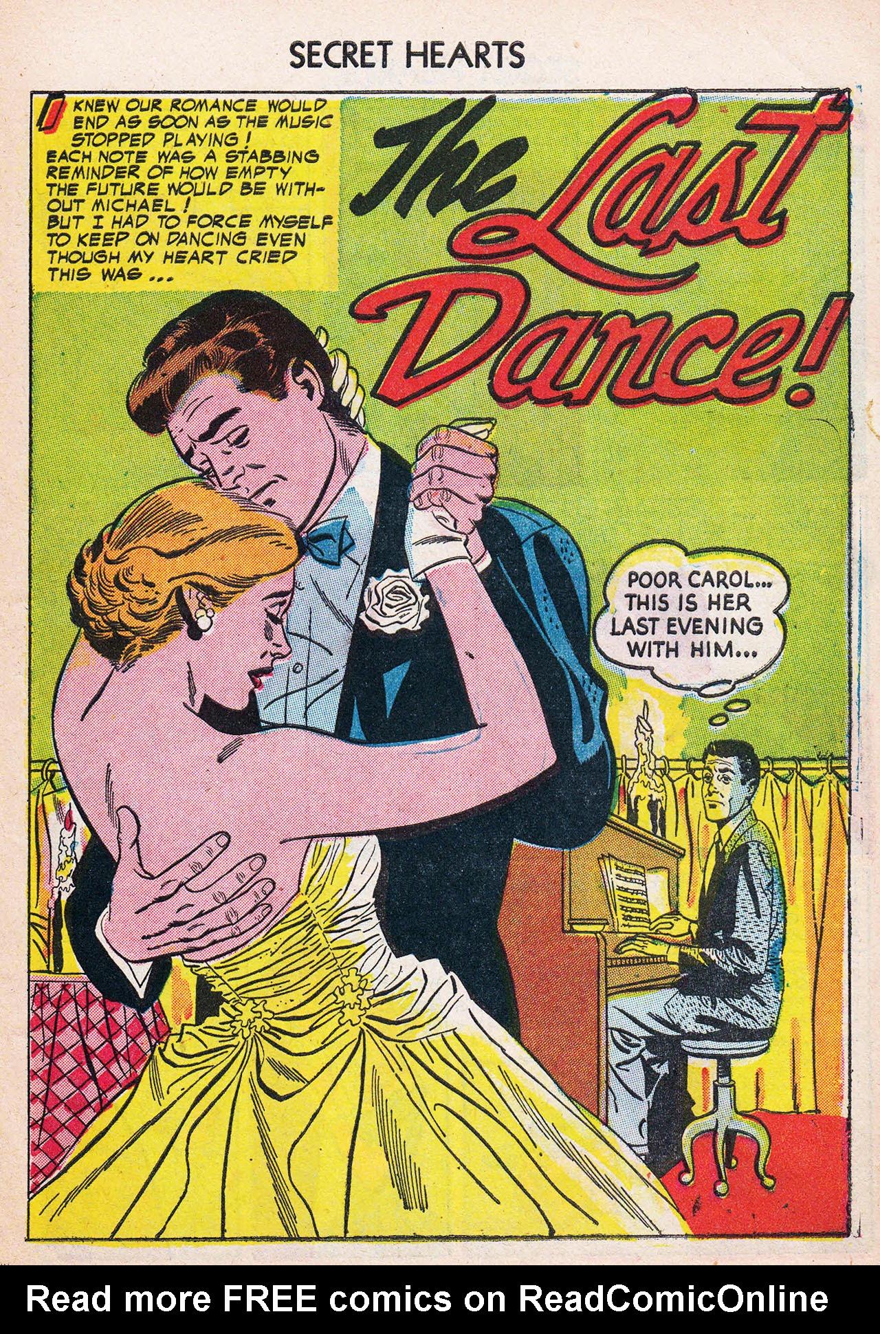 Read online Secret Hearts comic -  Issue #24 - 27