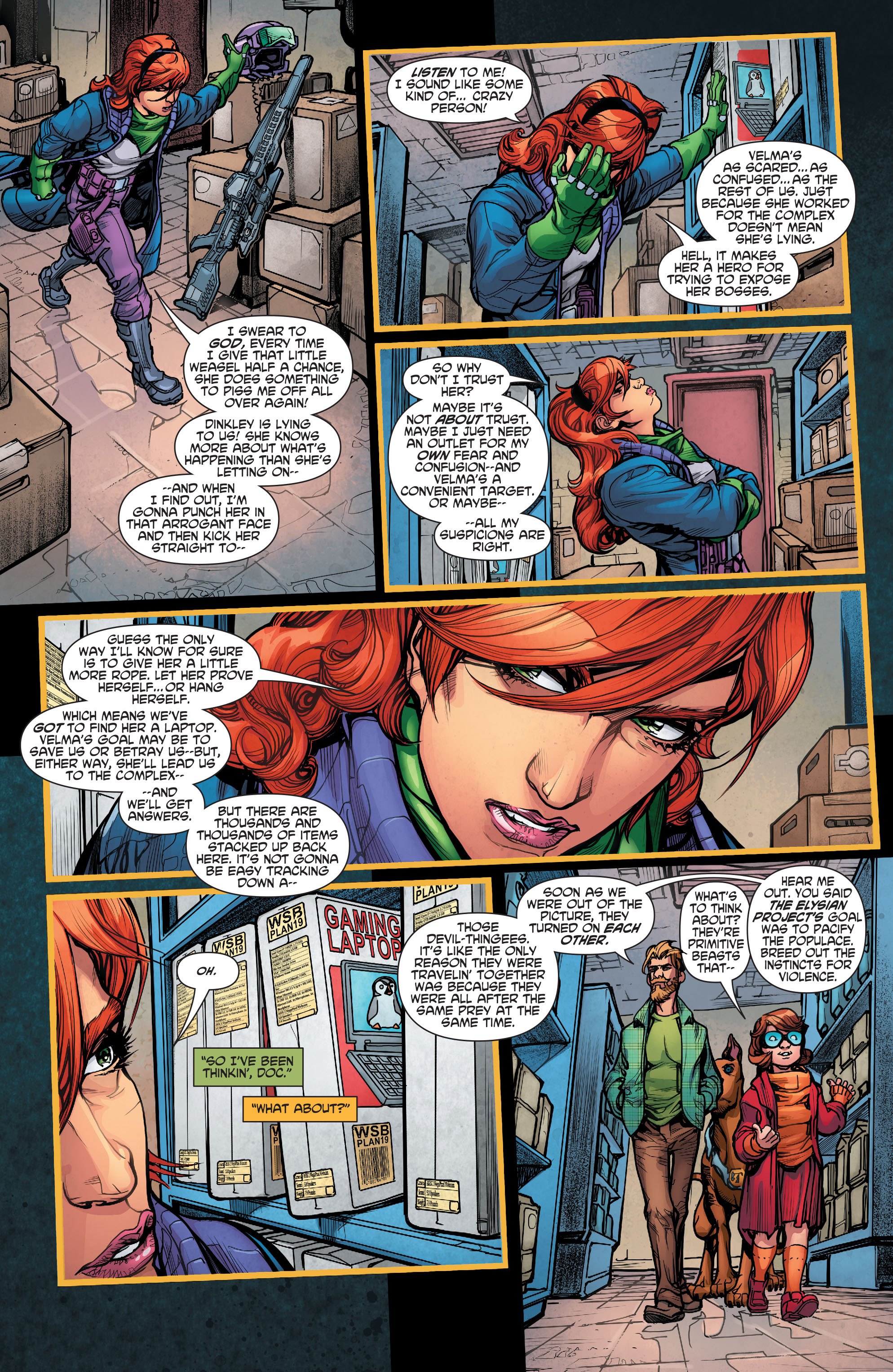 Read online Scooby Apocalypse comic -  Issue #5 - 24