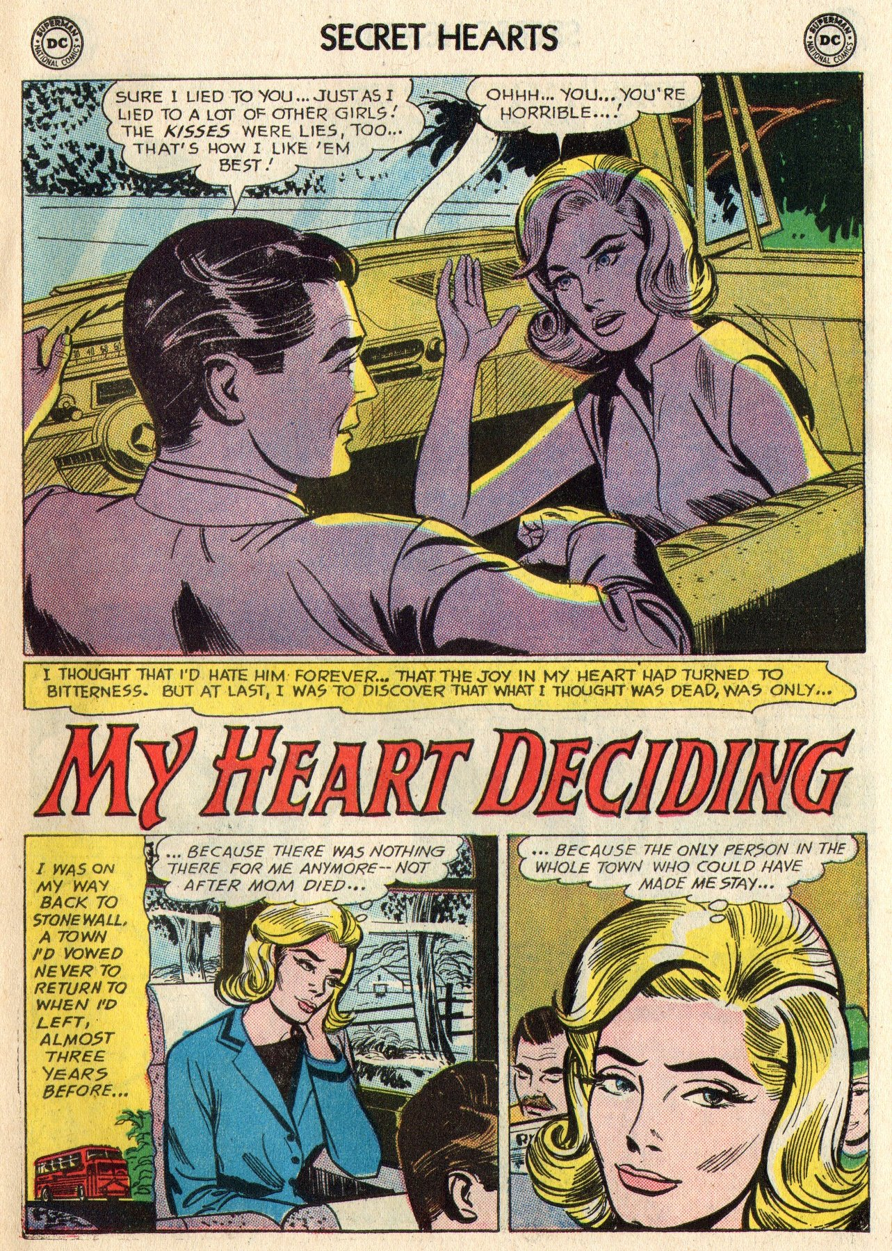 Read online Secret Hearts comic -  Issue #95 - 11