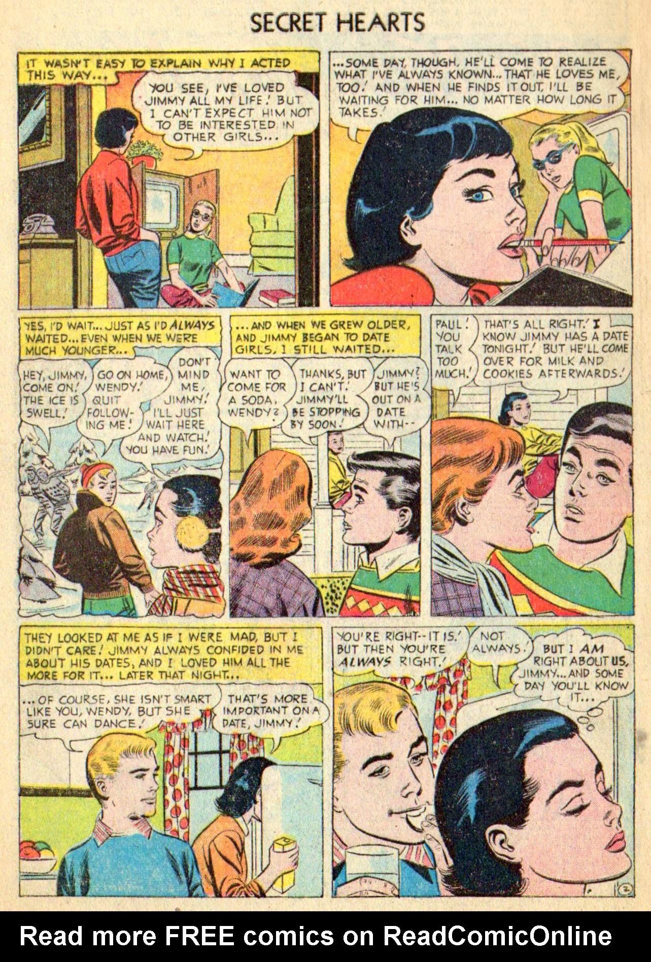 Read online Secret Hearts comic -  Issue #31 - 4