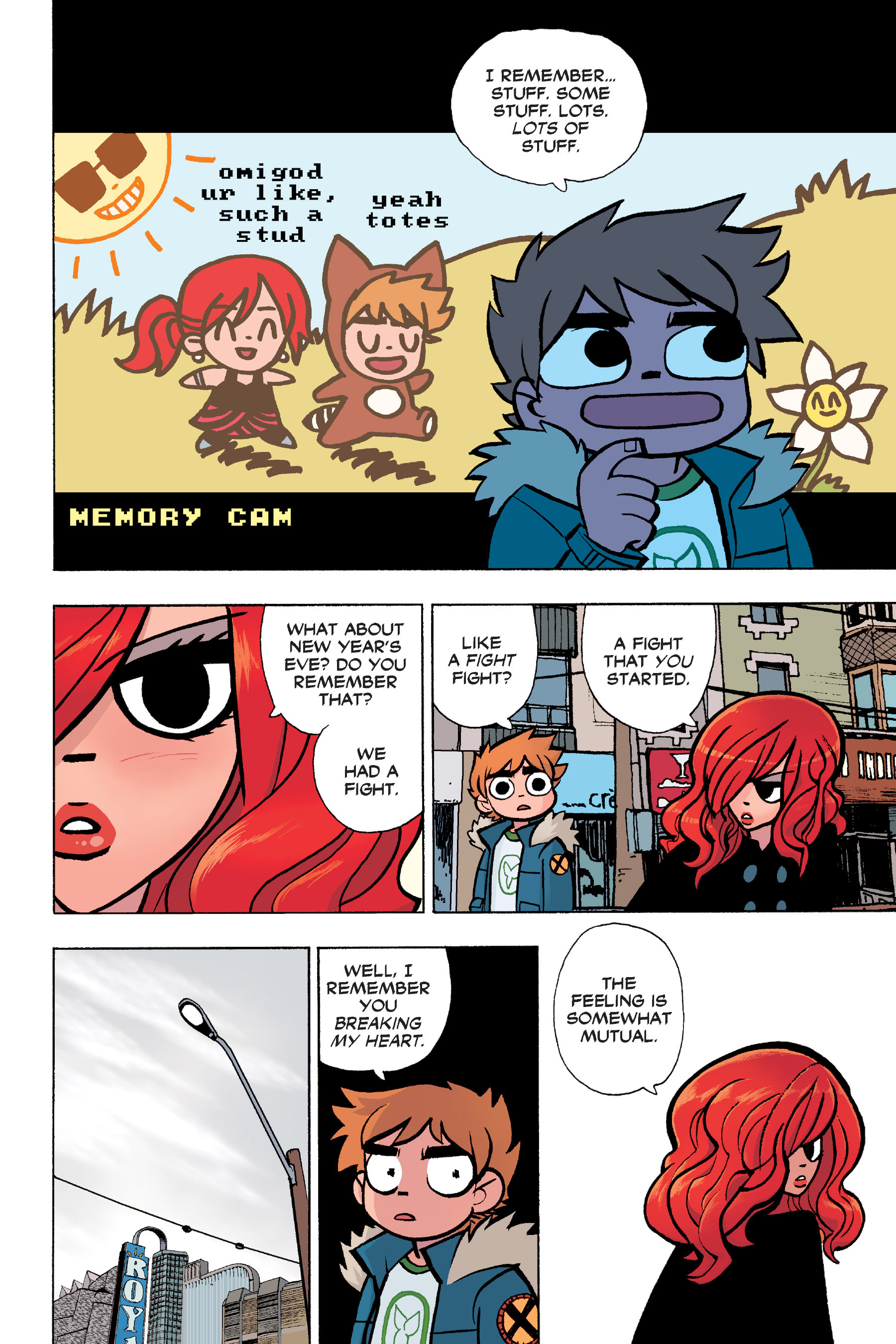 Read online Scott Pilgrim comic -  Issue #6 - 57