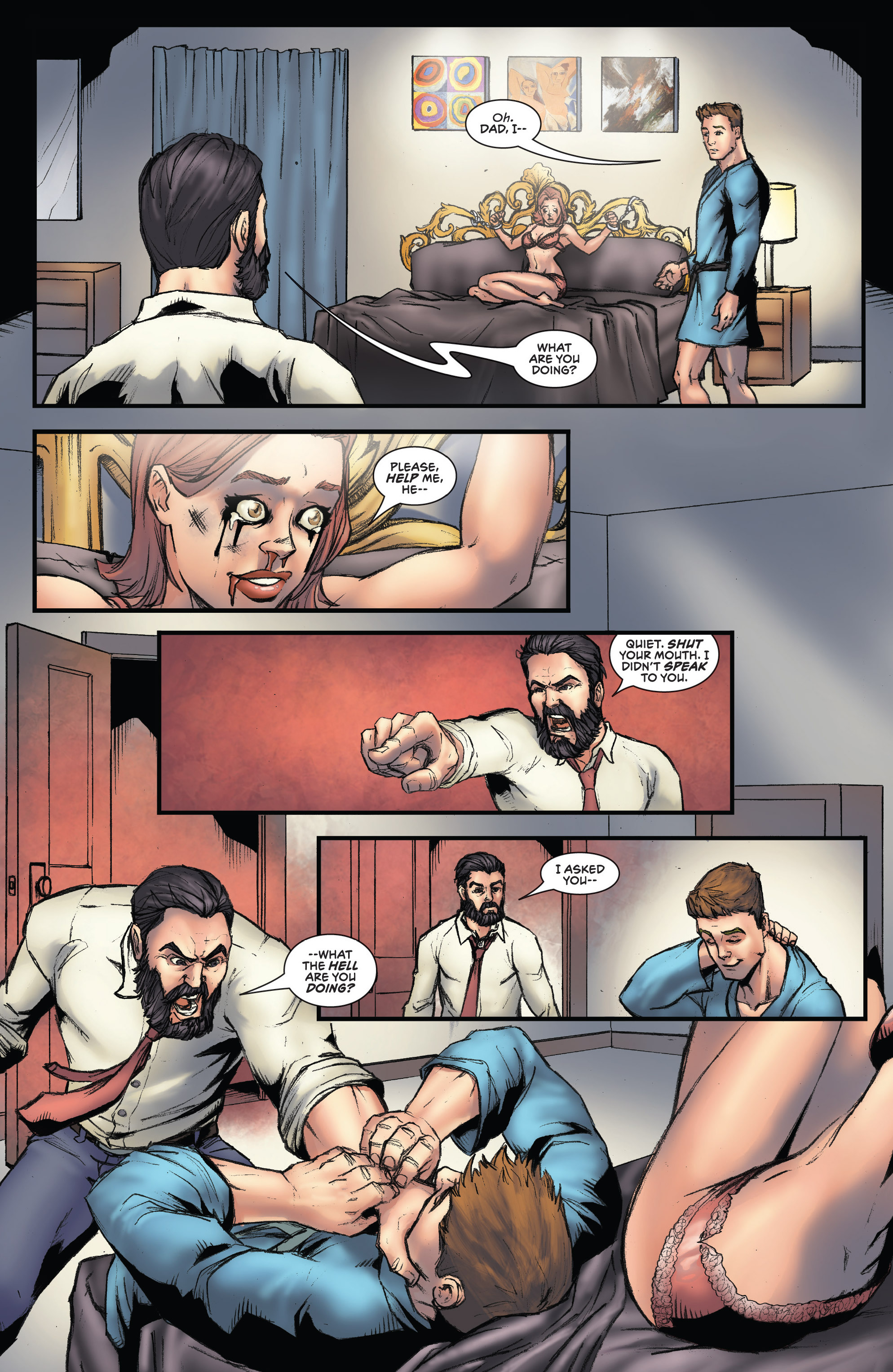 Read online Grimm Fairy Tales presents Robyn Hood (2012) comic -  Issue #3 - 19