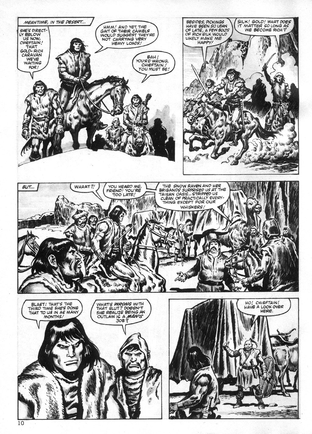 The Savage Sword Of Conan Issue #95 #96 - English 10