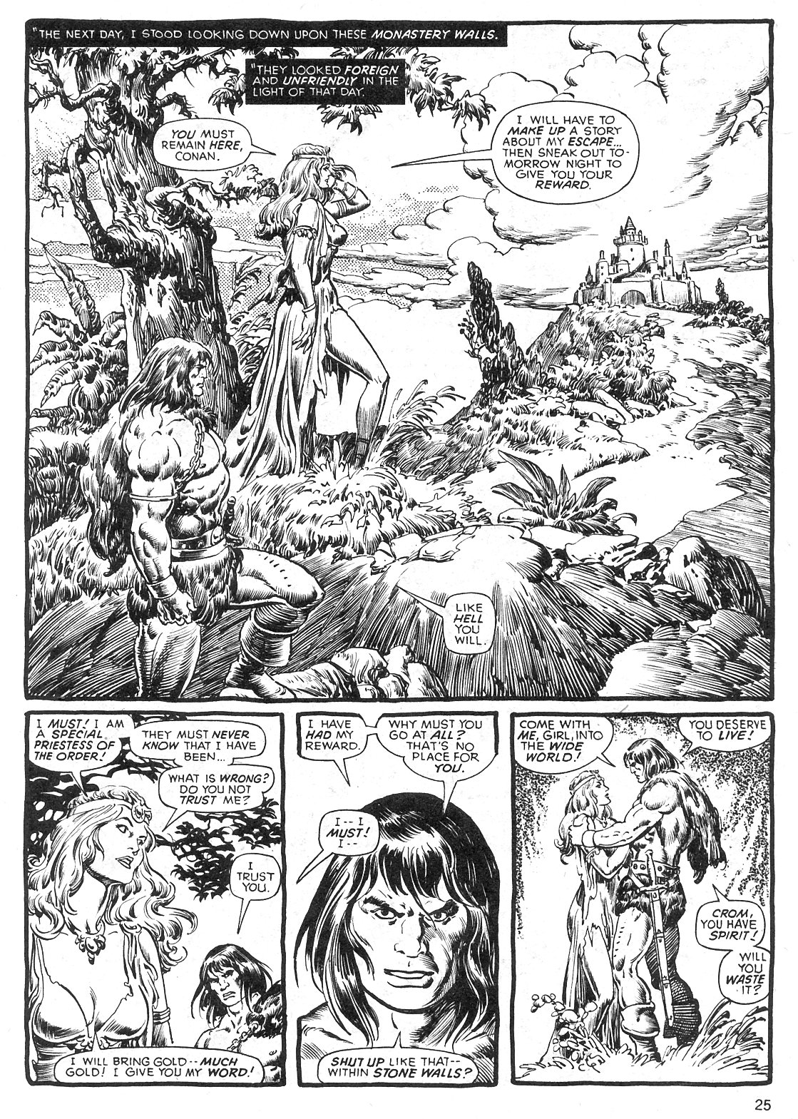 The Savage Sword Of Conan Issue #29 #30 - English 25