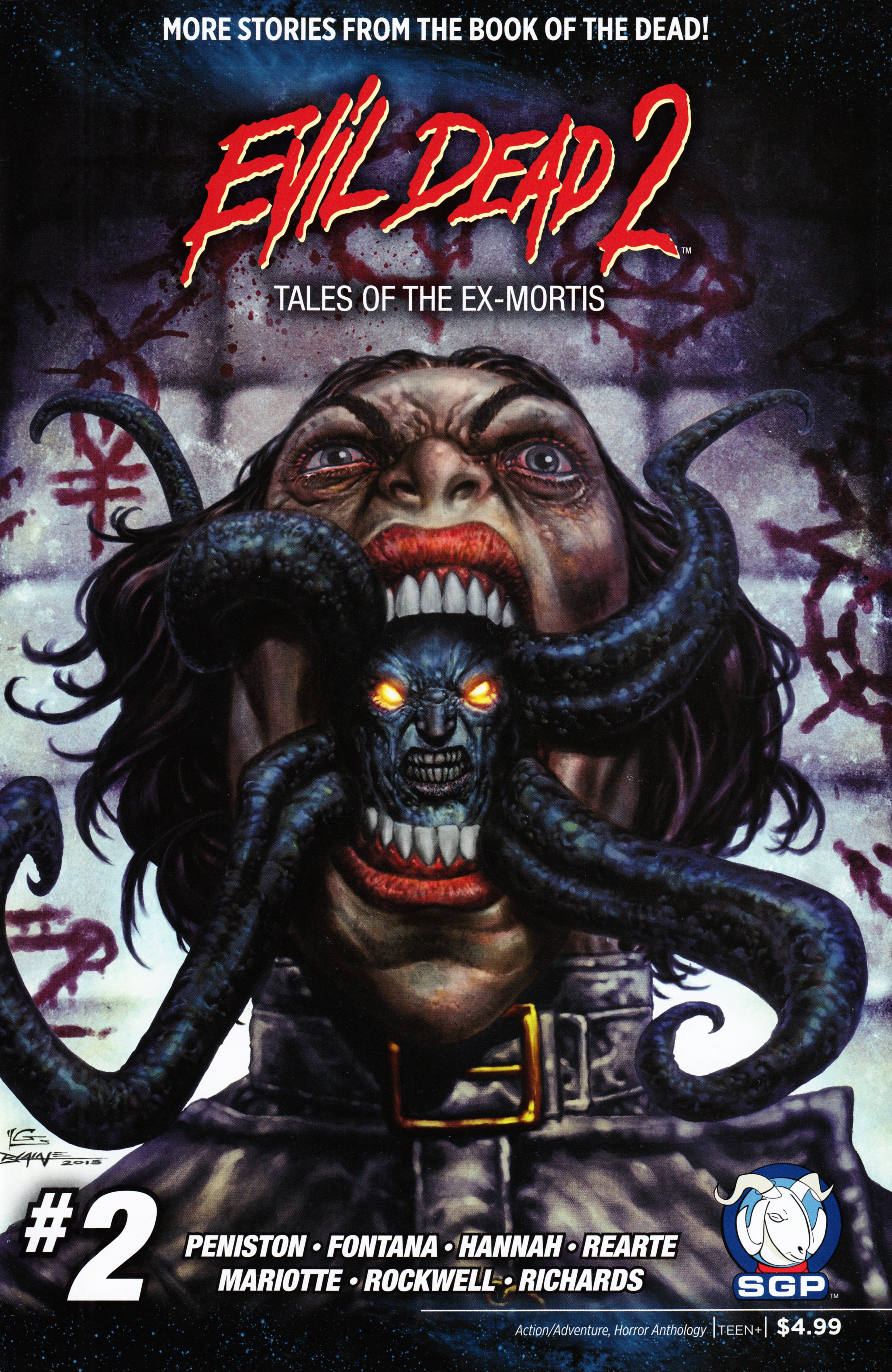 Read online Evil Dead 2: Tales of the Ex-Mortis comic -  Issue #2 - 1