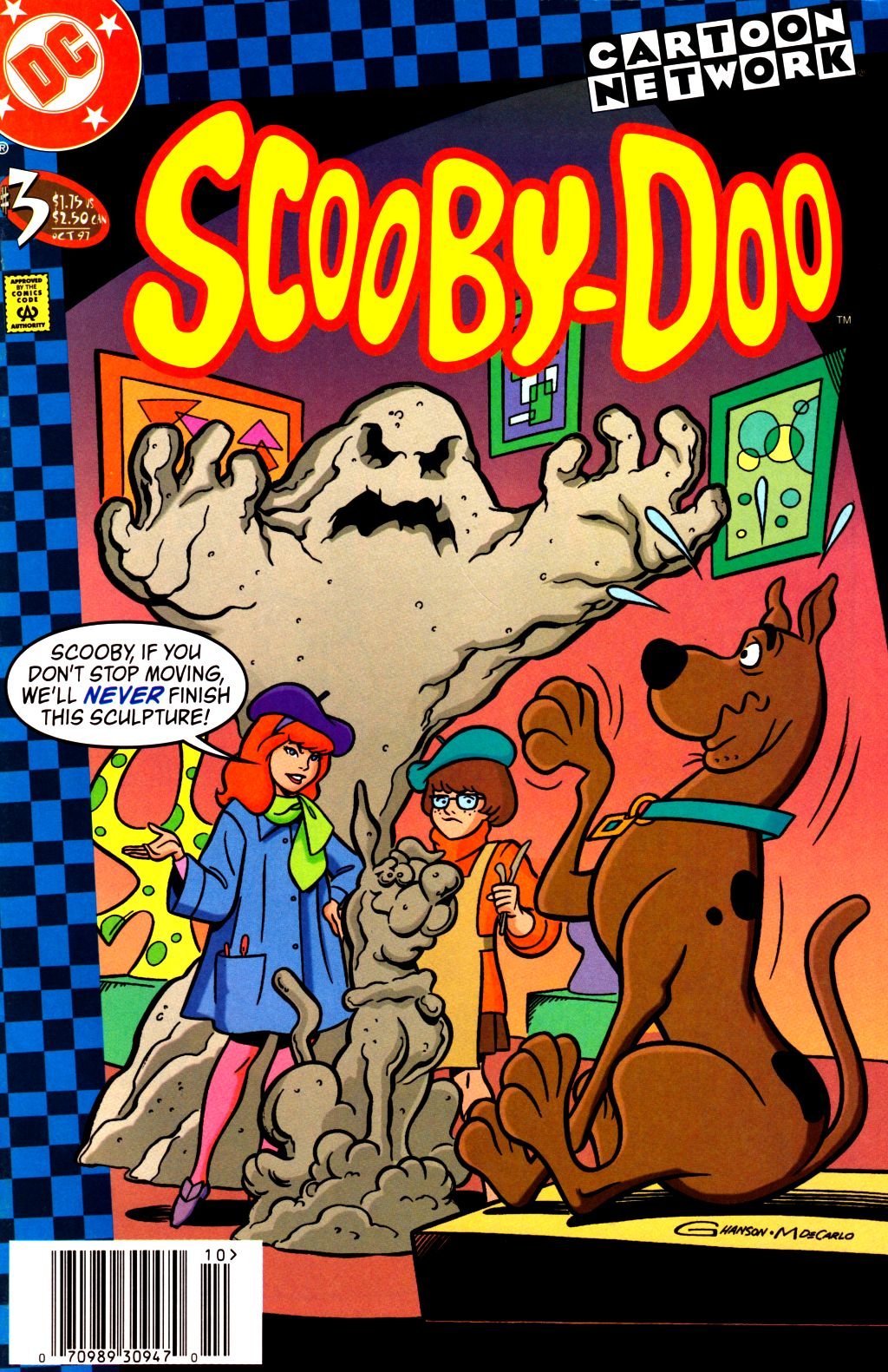 Read online Scooby-Doo (1997) comic -  Issue #3 - 1