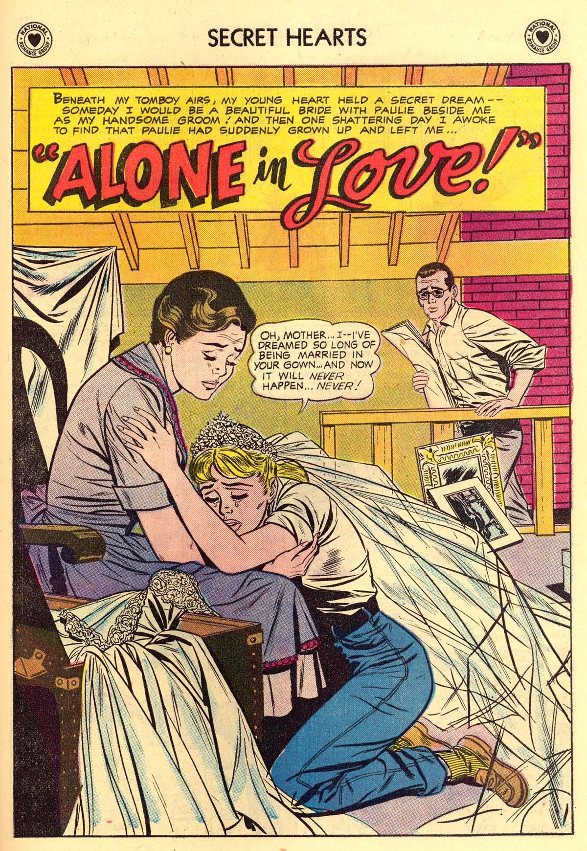 Read online Secret Hearts comic -  Issue #43 - 27