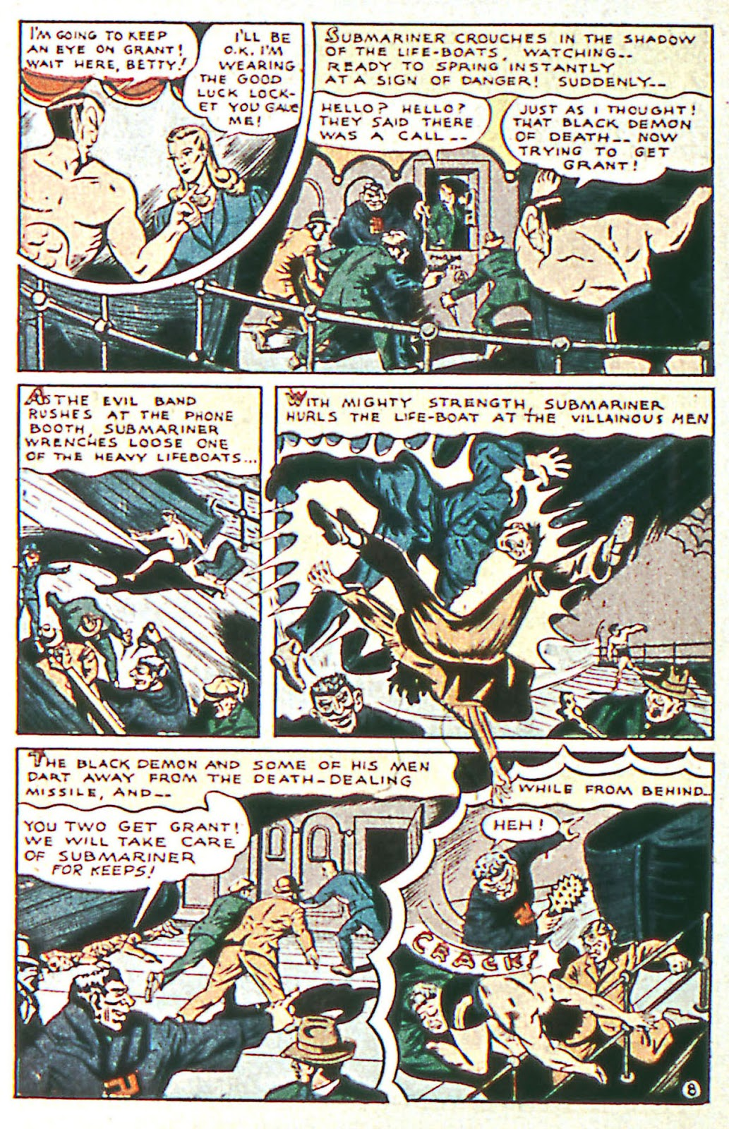 Sub-Mariner Comics Issue #16 #16 - English 10